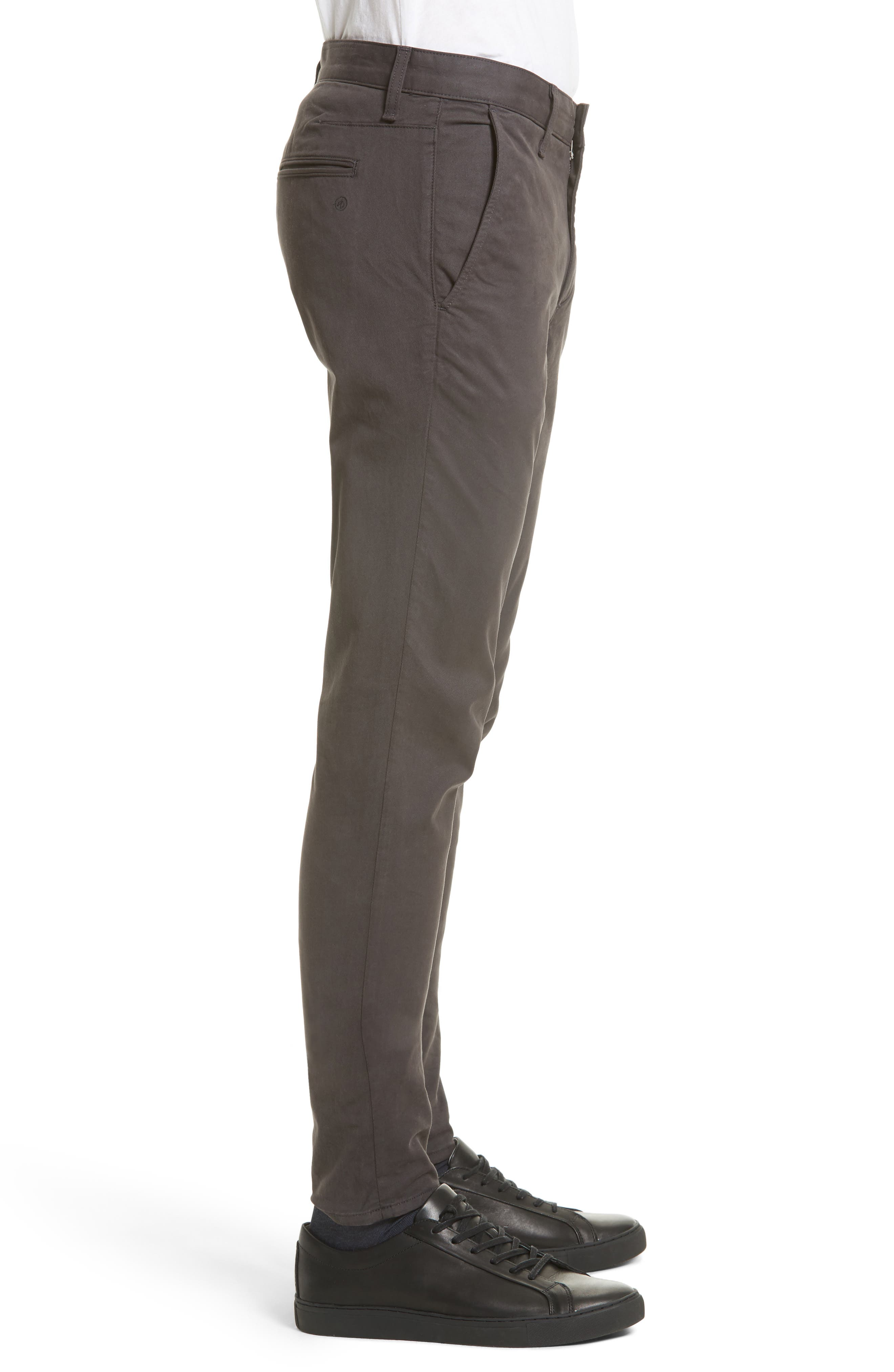 Fit 1 Chinos,                             Alternate thumbnail 3, color,                             GREY