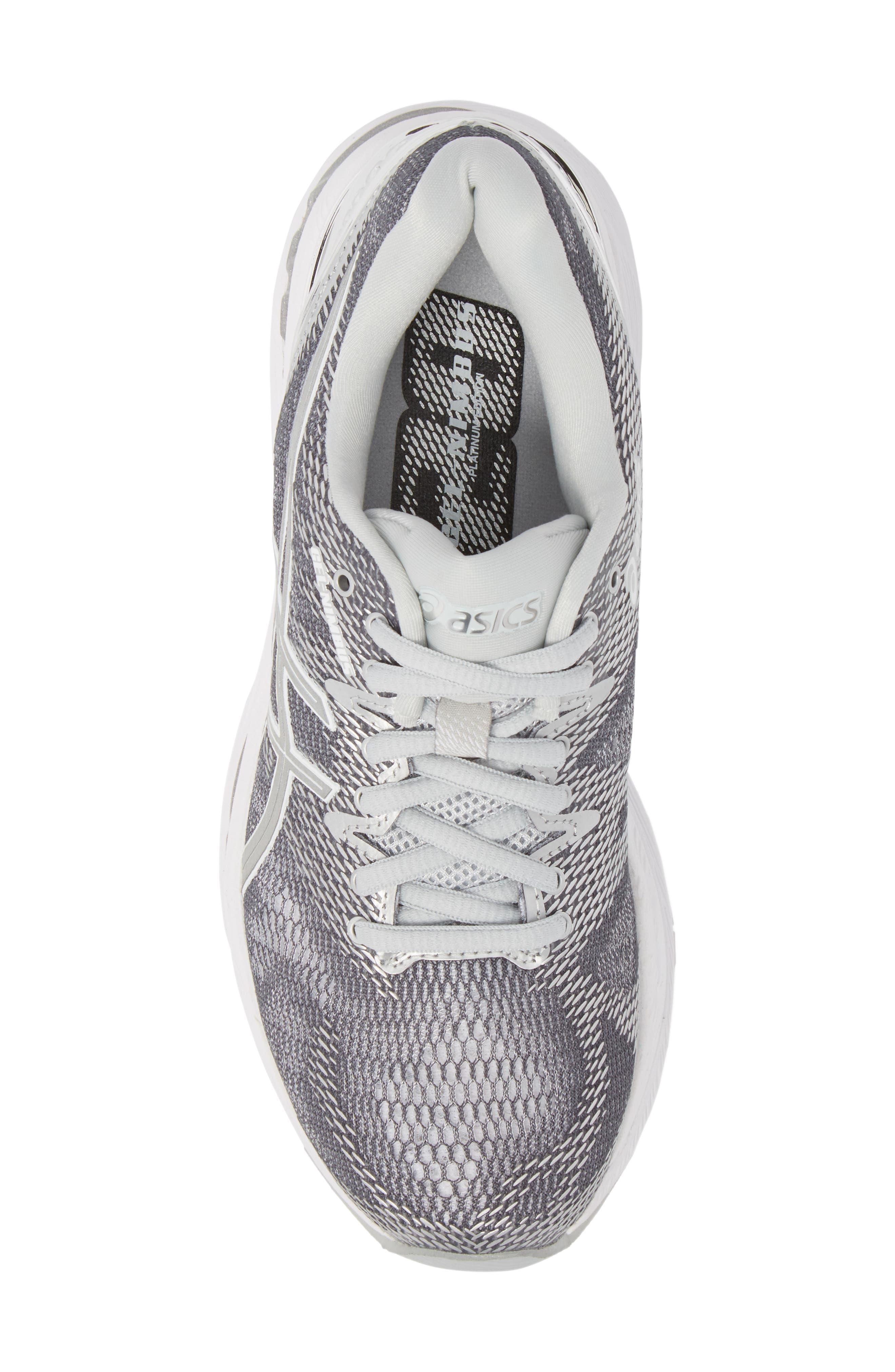 GEL-Nimbus 20 Platinum Running Shoe,                             Alternate thumbnail 5, color,                             097