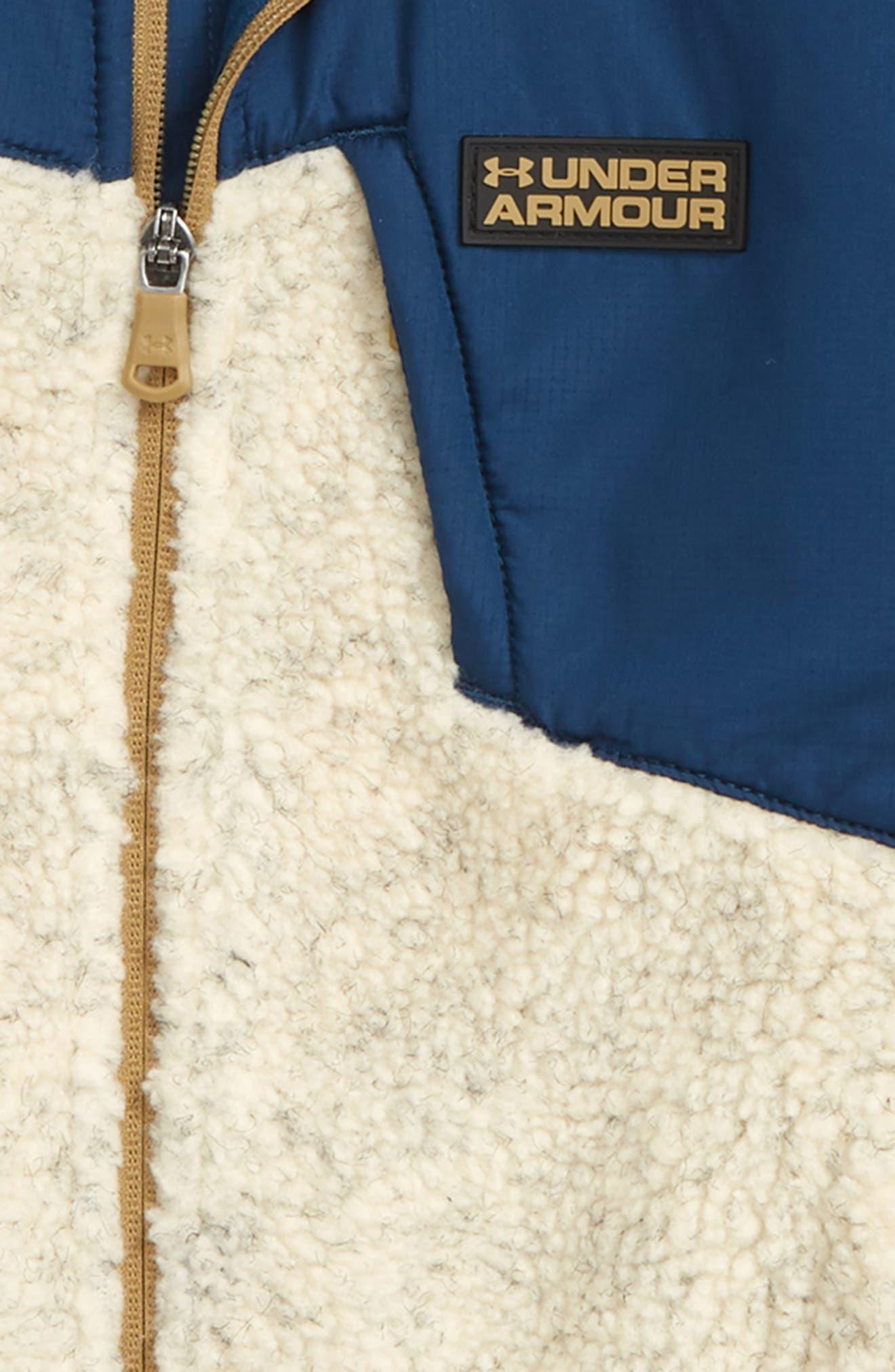 Storm Tanuk Fleece Jacket,                             Alternate thumbnail 3, color,                             OATMEAL HEATHER