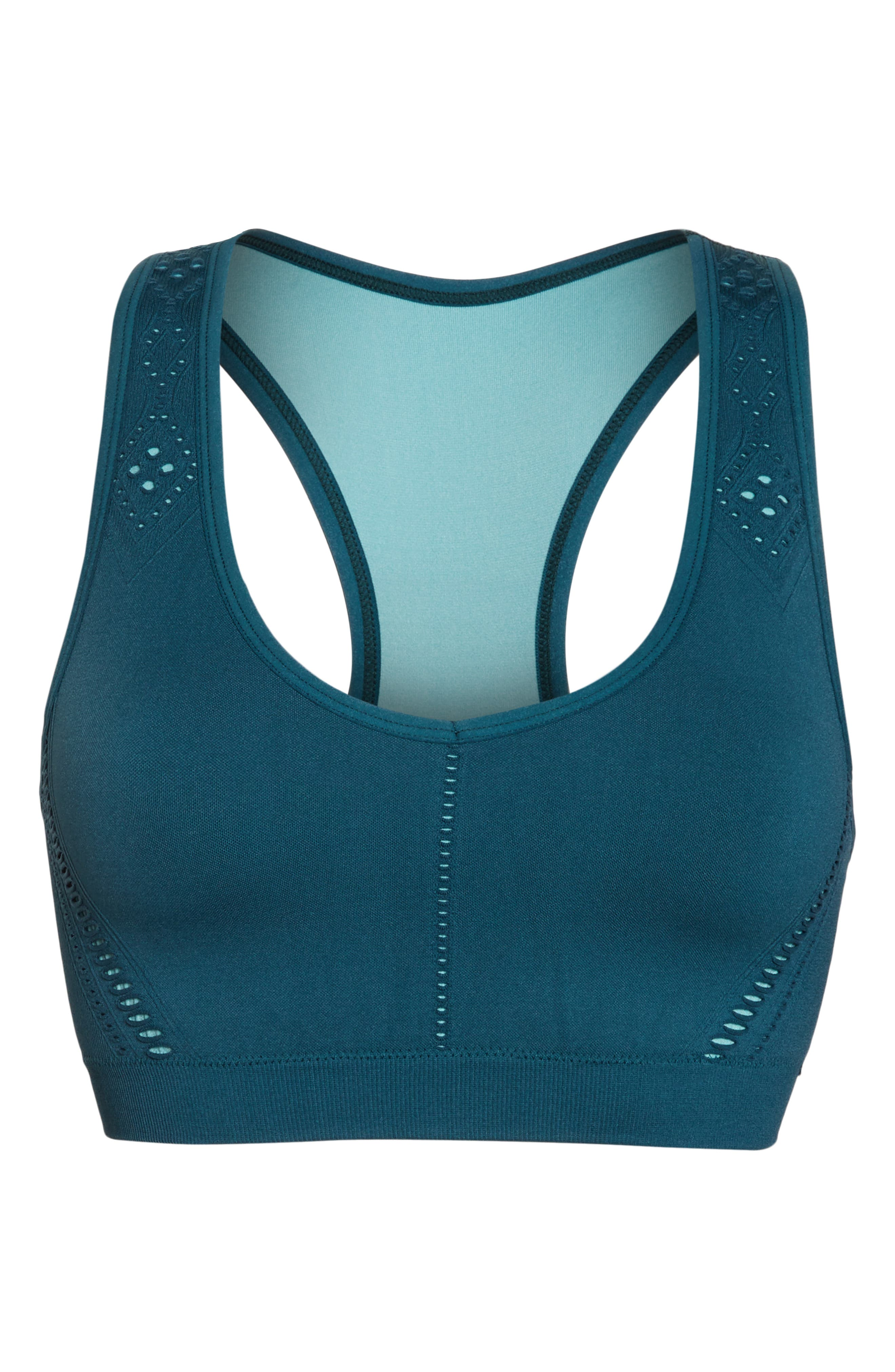 CLIMAWEAR,                             Hansa Sports Bra,                             Alternate thumbnail 6, color,                             NORTH SEA W/ AQUA HAZE