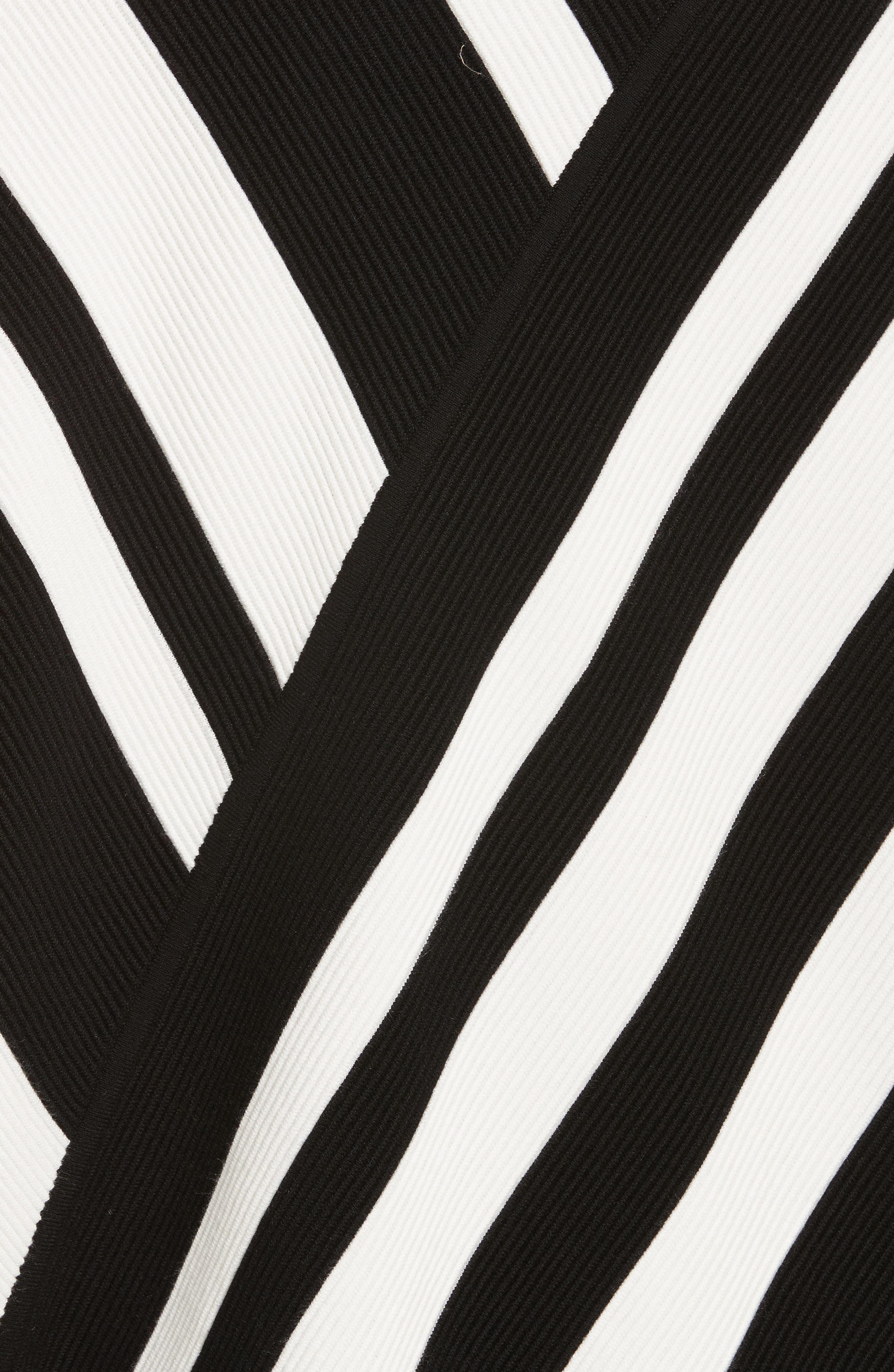 Stripe Knit Sweater,                             Alternate thumbnail 5, color,                             005