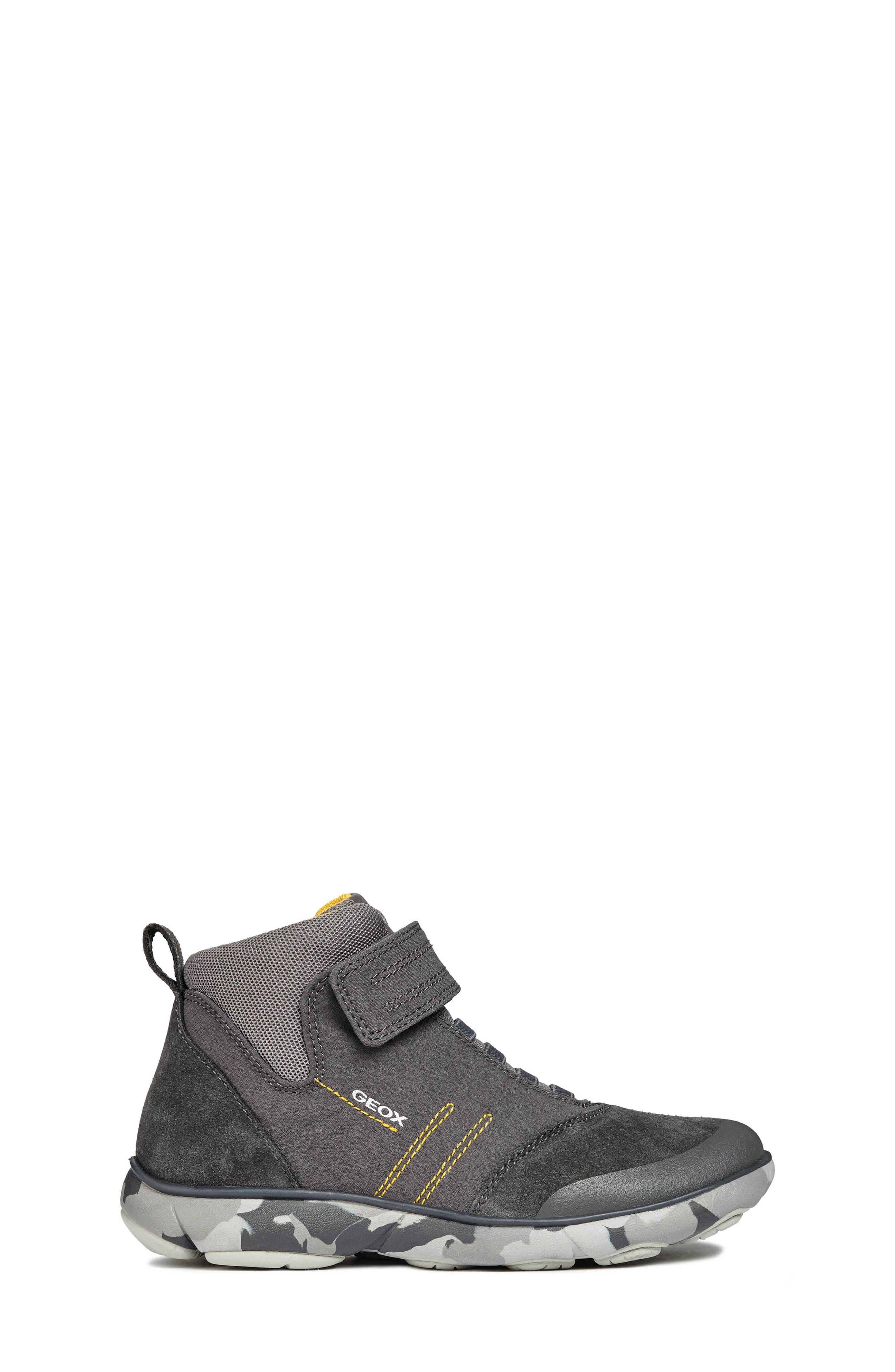 Nebula Boot,                             Alternate thumbnail 3, color,                             GREY/YELLOW