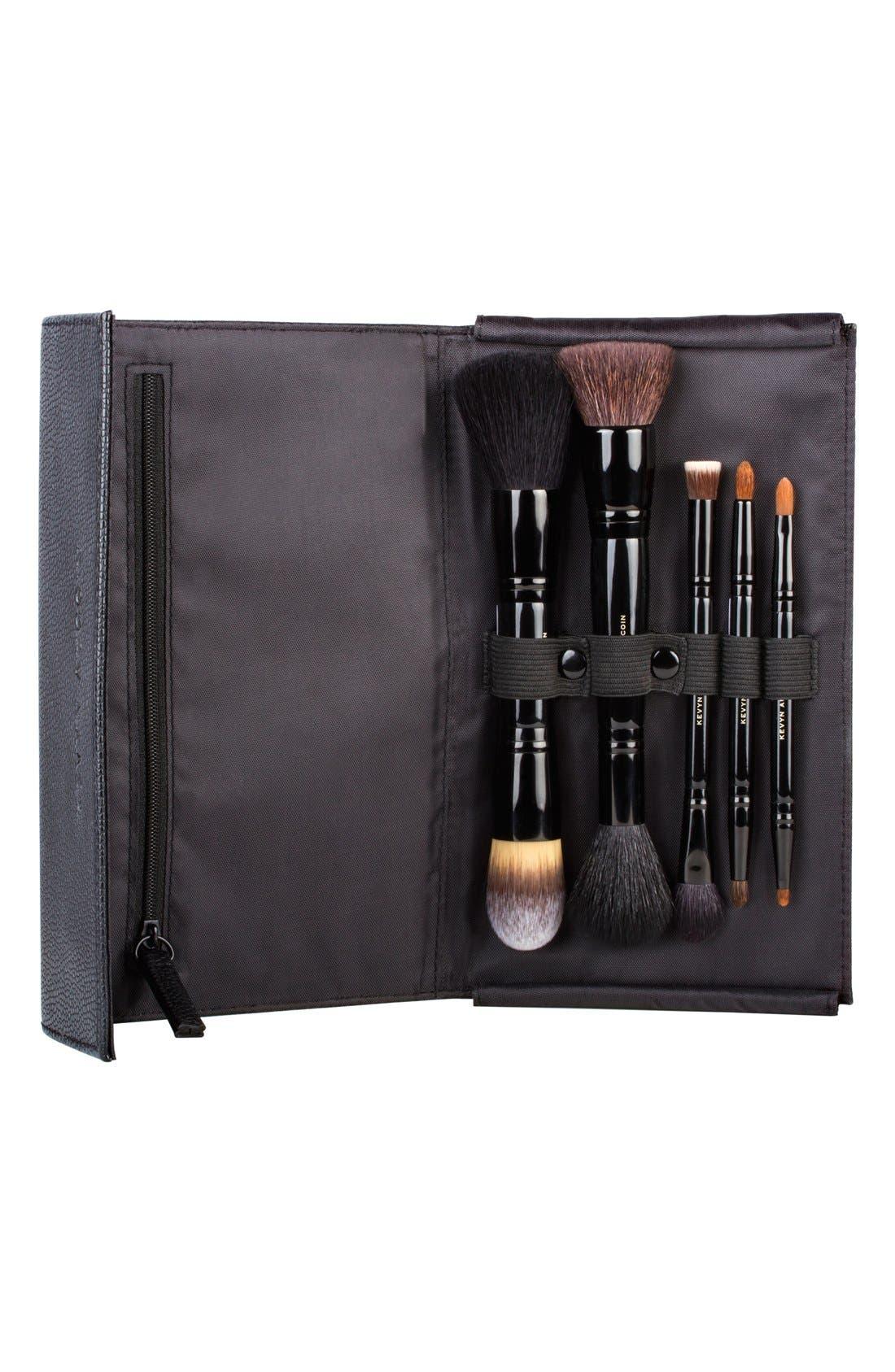 Travel Brush Set, Main, color, 000