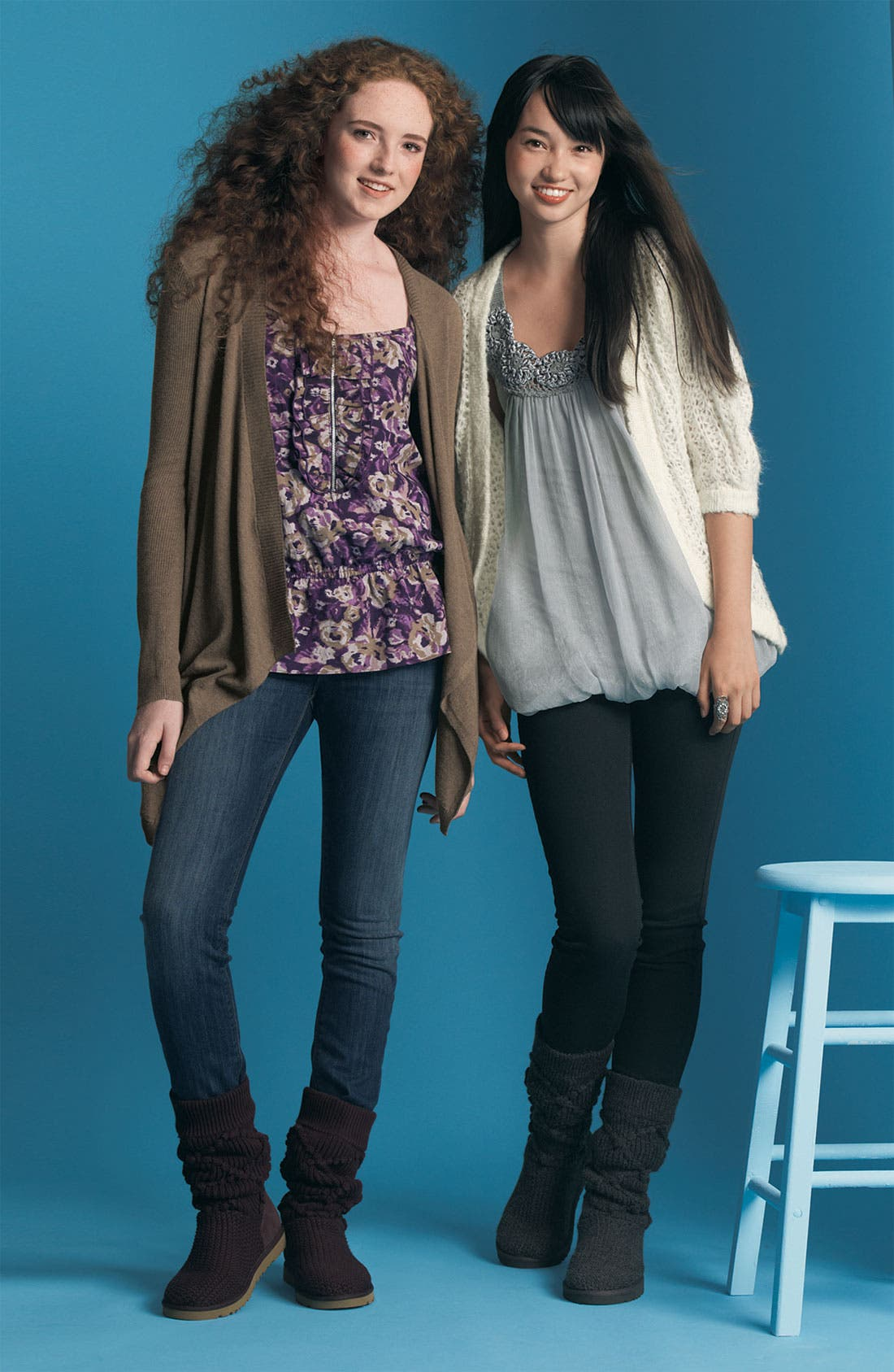 Open Front Cardigan, Main, color, 060