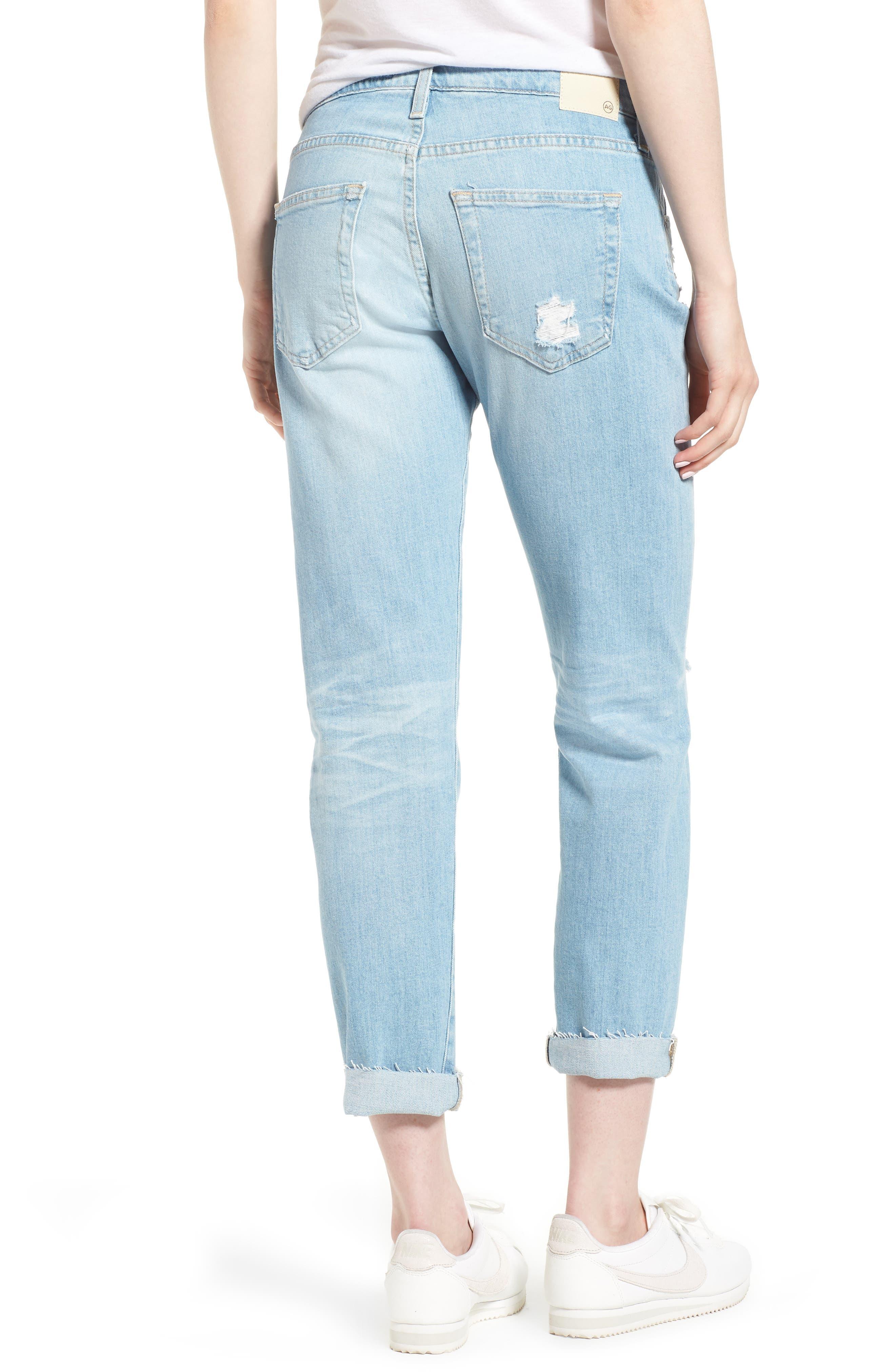 The Ex-Boyfriend Crop Slim Jeans,                             Alternate thumbnail 2, color,                             426