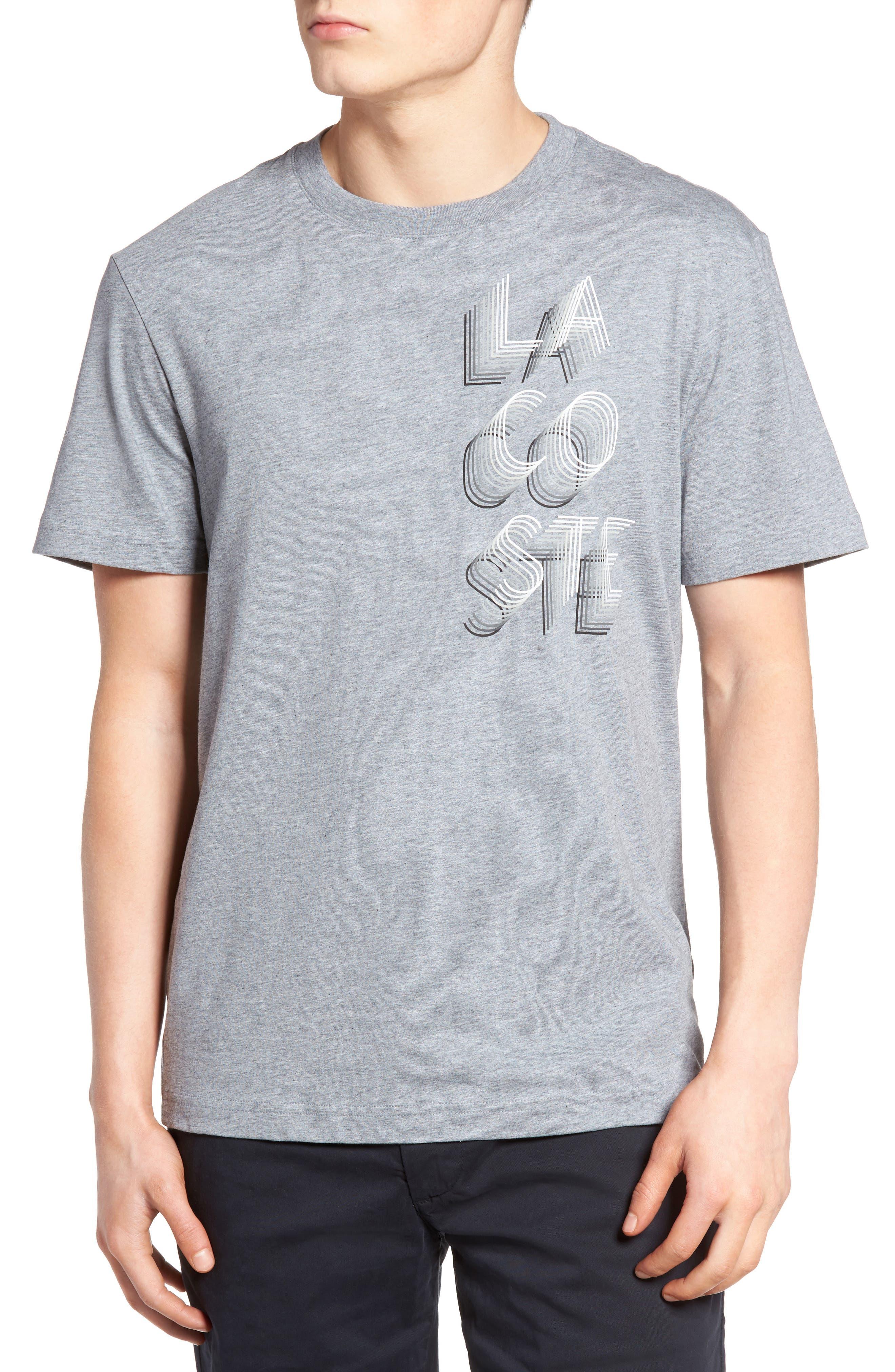 3D Print Logo Graphic T-Shirt,                             Main thumbnail 2, color,