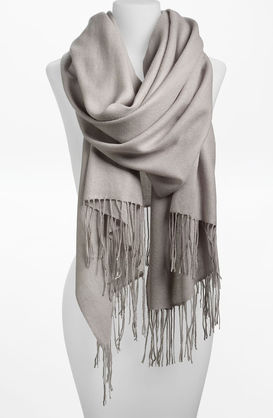 Tissue Weight Wool & Cashmere Wrap,                             Main thumbnail 8, color,