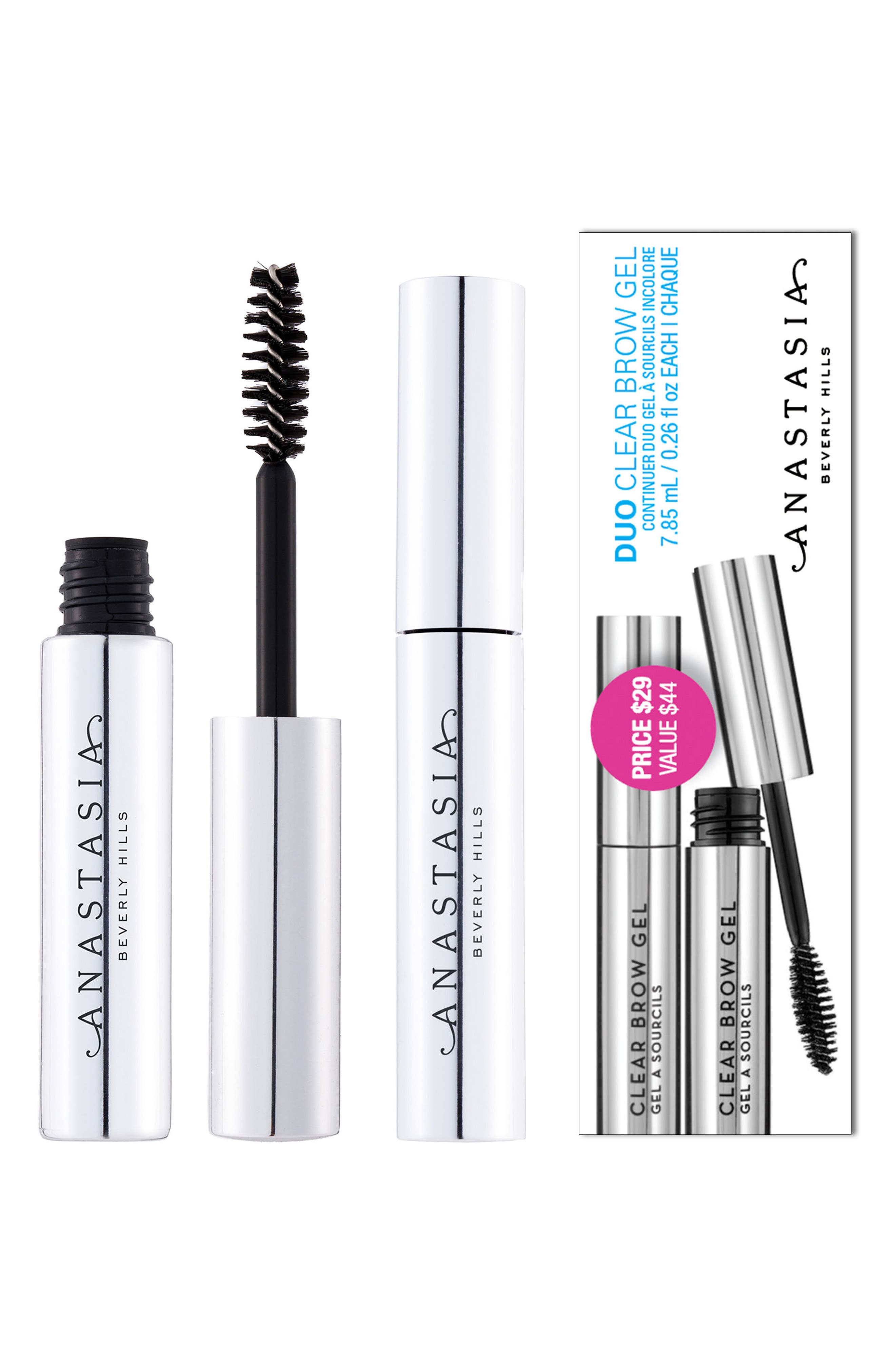 Clear Brow Gel Duo,                             Alternate thumbnail 2, color,                             000
