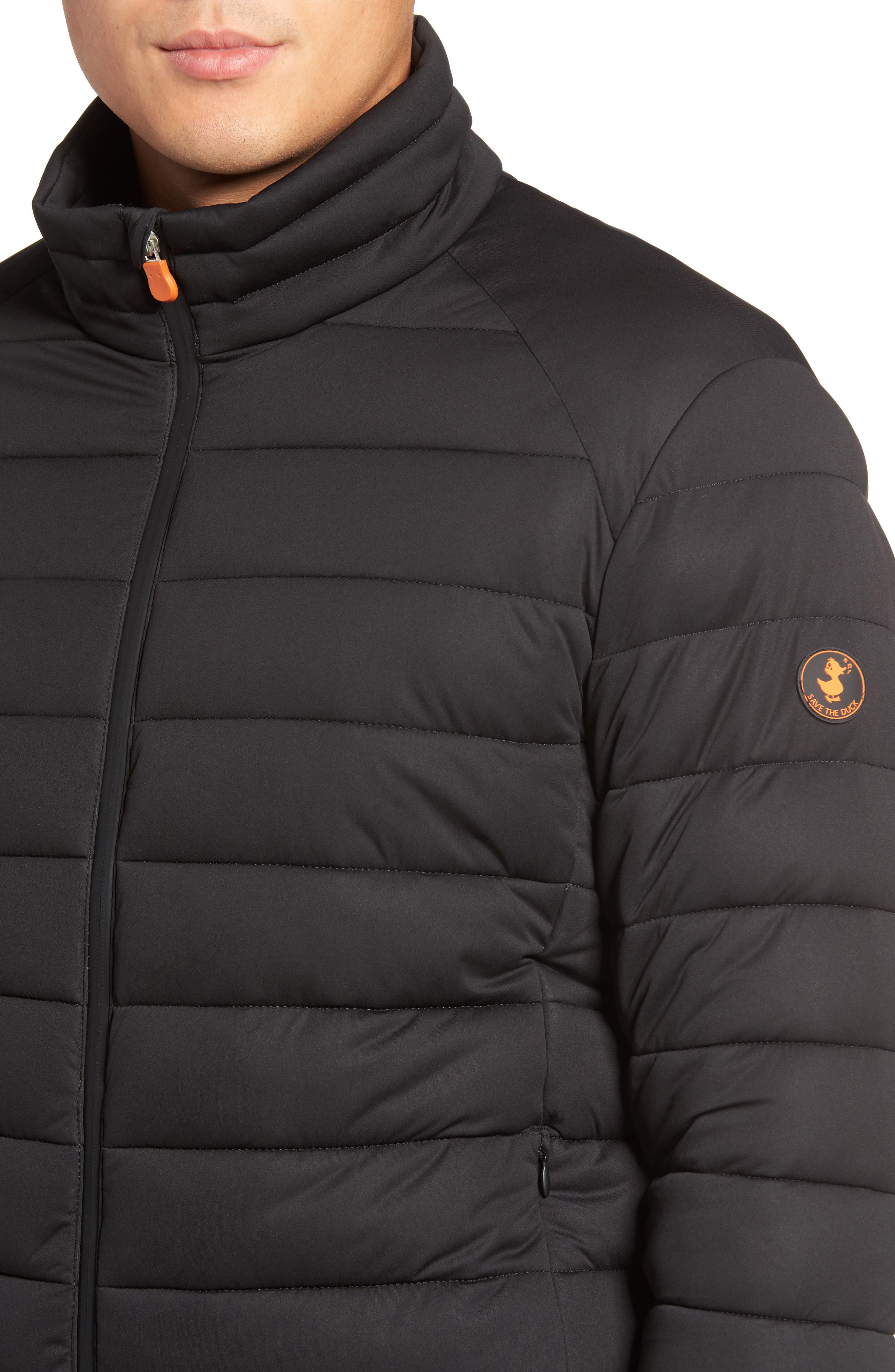 Puffer Jacket,                             Alternate thumbnail 4, color,                             001