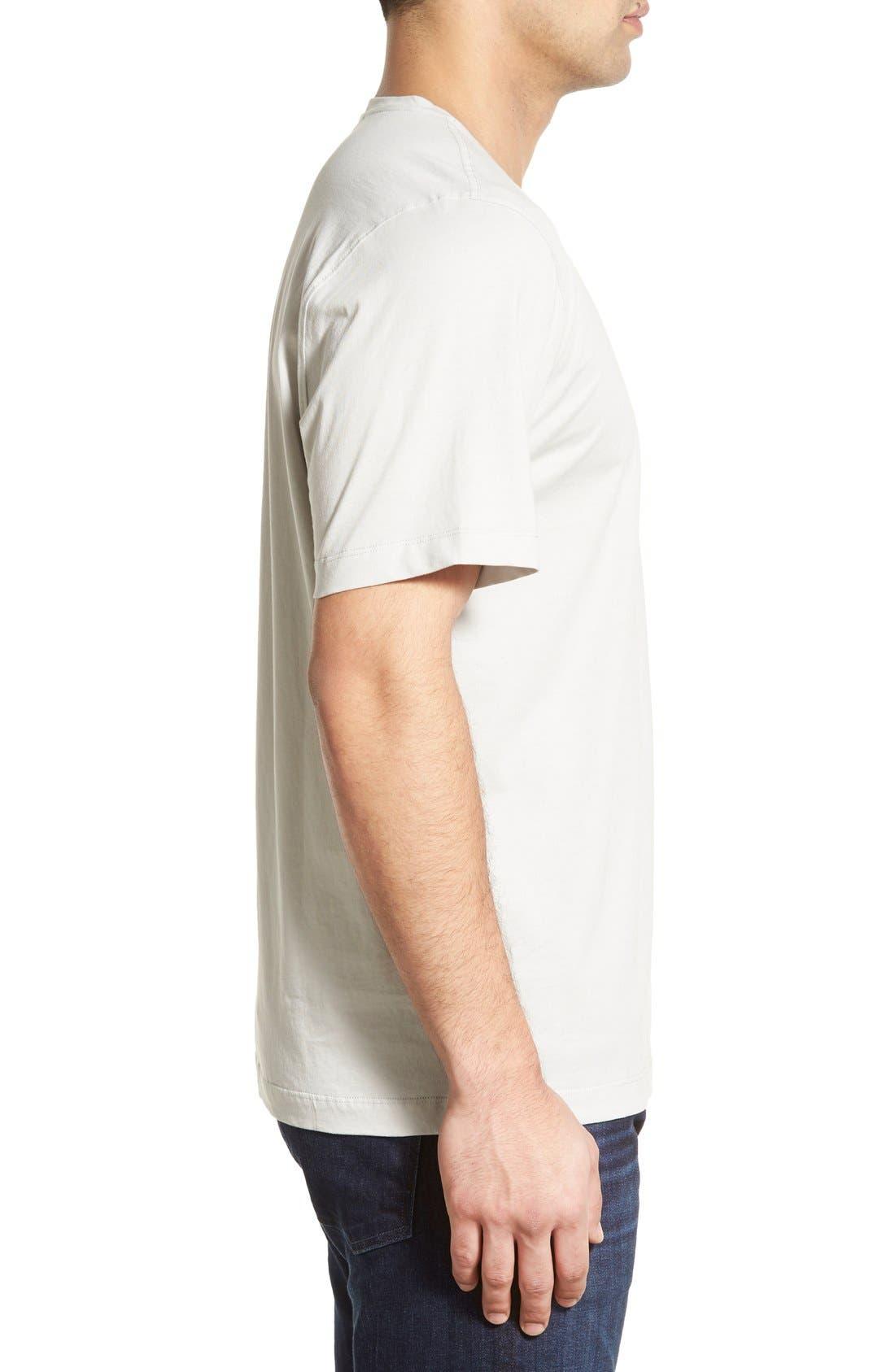 Sida V-Neck T-Shirt,                             Alternate thumbnail 3, color,                             054