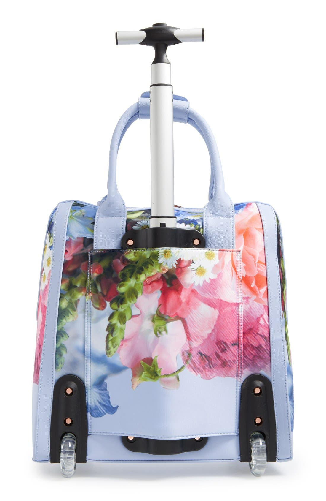 TED BAKER LONDON,                             'Vickey Floral Focus' Travel Bag,                             Alternate thumbnail 2, color,                             400
