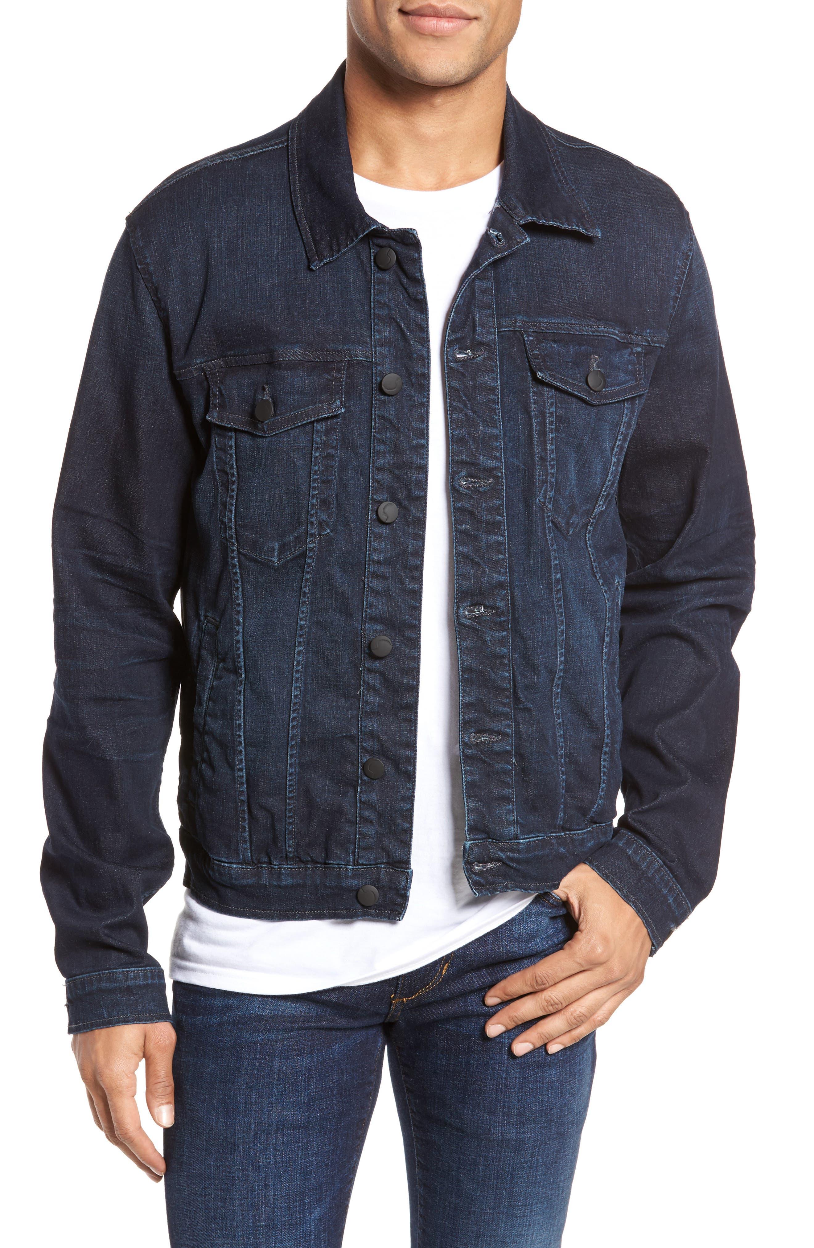 Rogue Denim Jacket,                         Main,                         color, 406