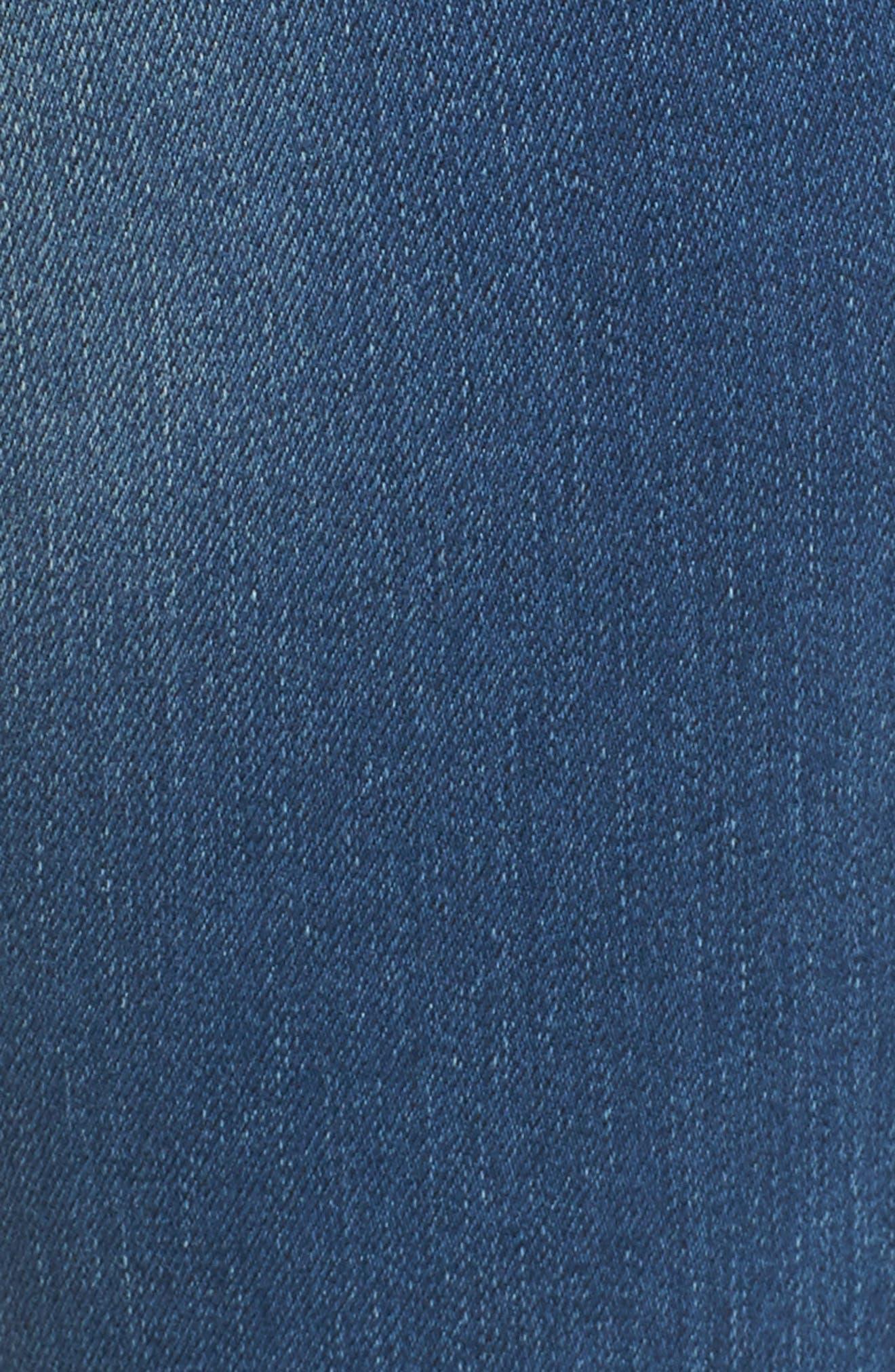 Stella Low Rise Skinny Jeans,                             Alternate thumbnail 5, color,                             400