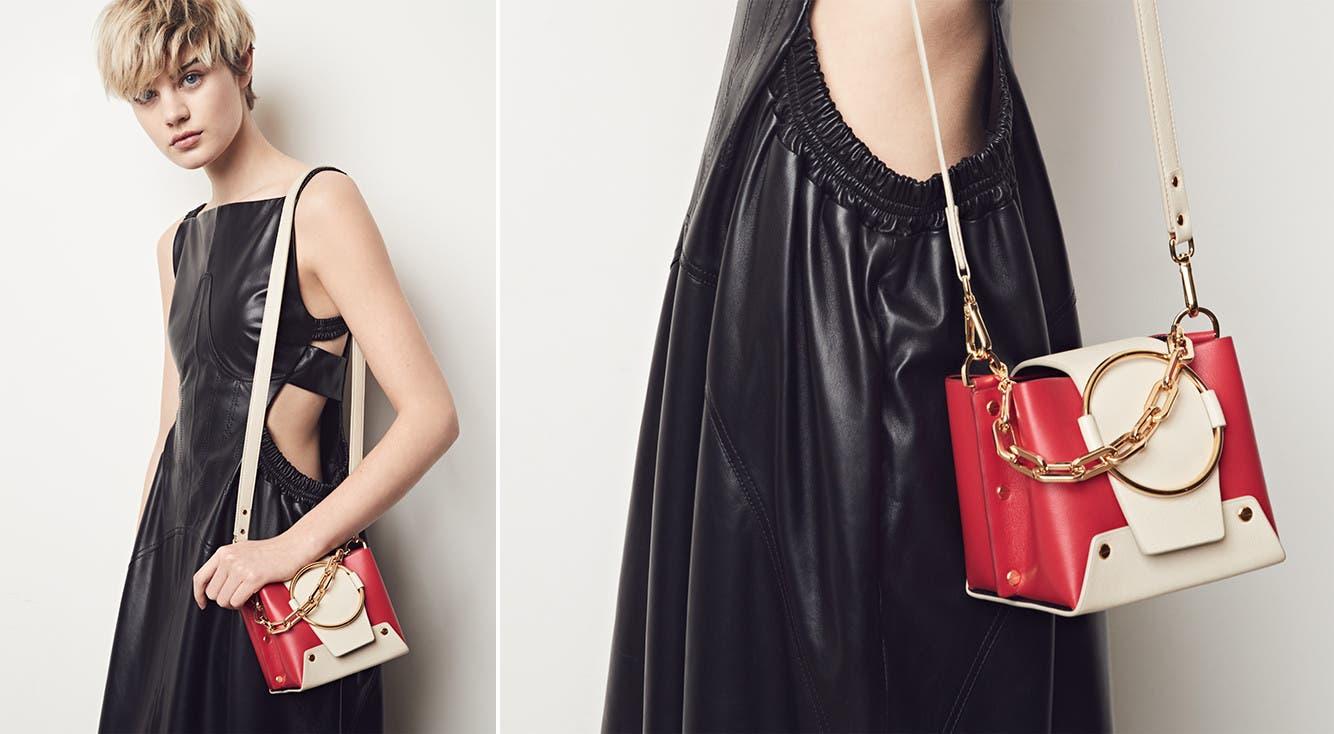 Yuzefi designer handbags.