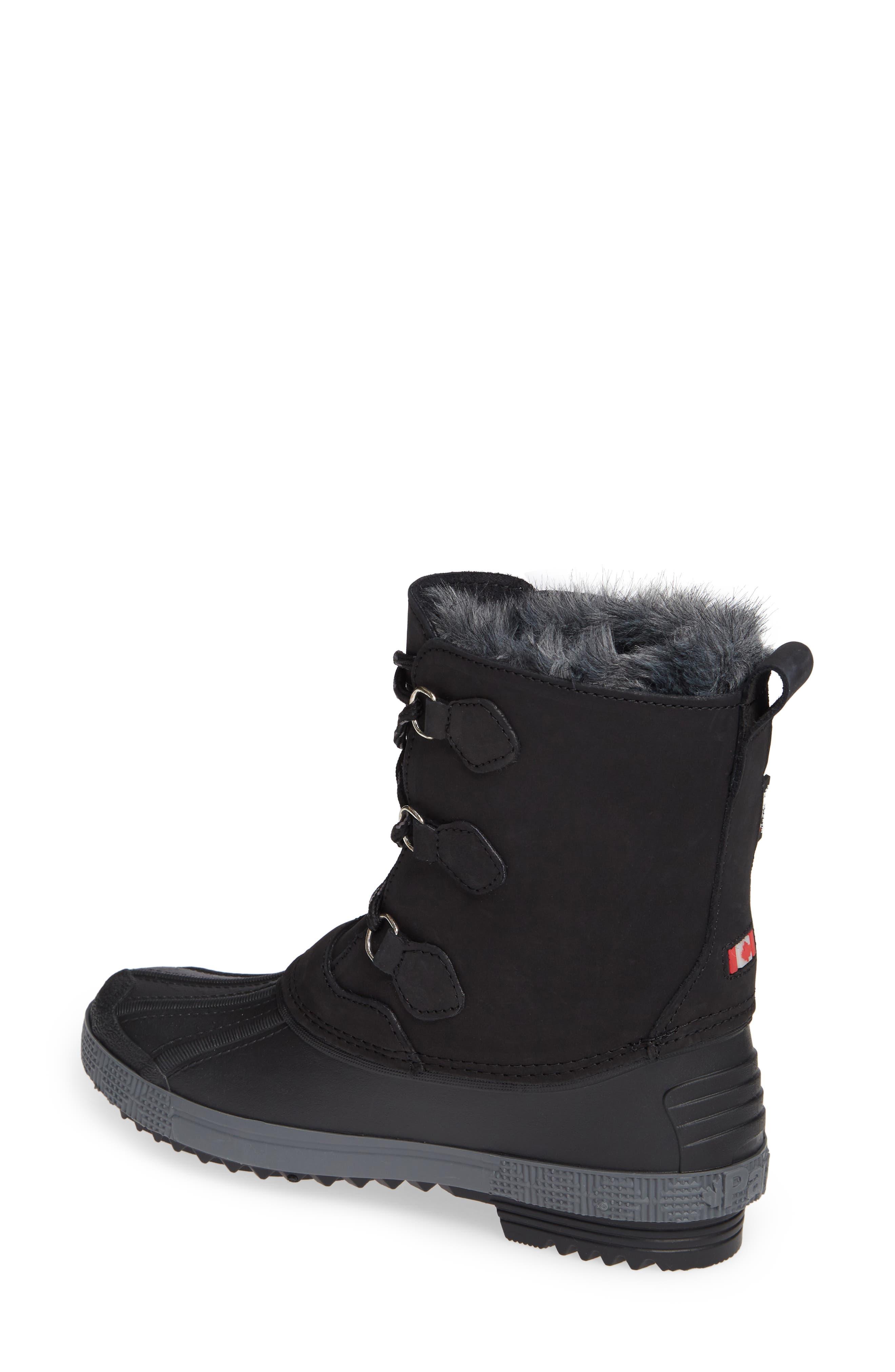 Cali Waterproof Insulated Boot,                             Alternate thumbnail 2, color,                             BROWN/ BLACK