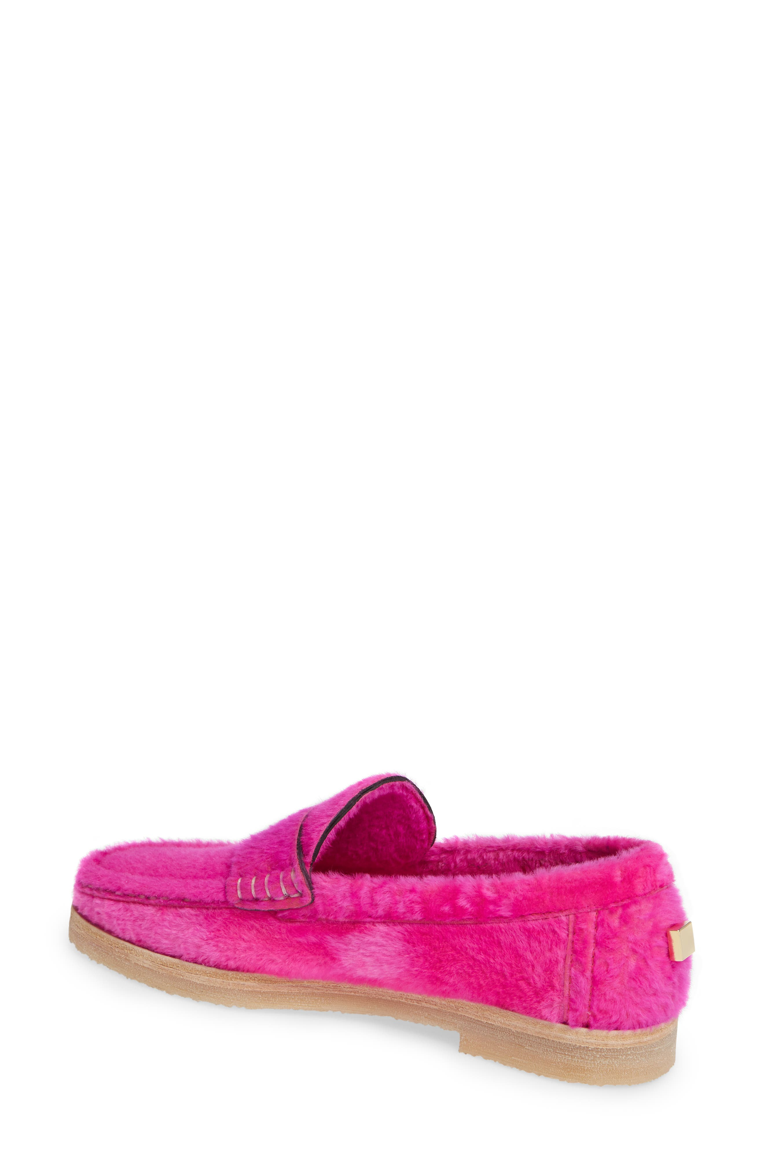 Bromley Genuine Shearling Loafer,                             Alternate thumbnail 7, color,
