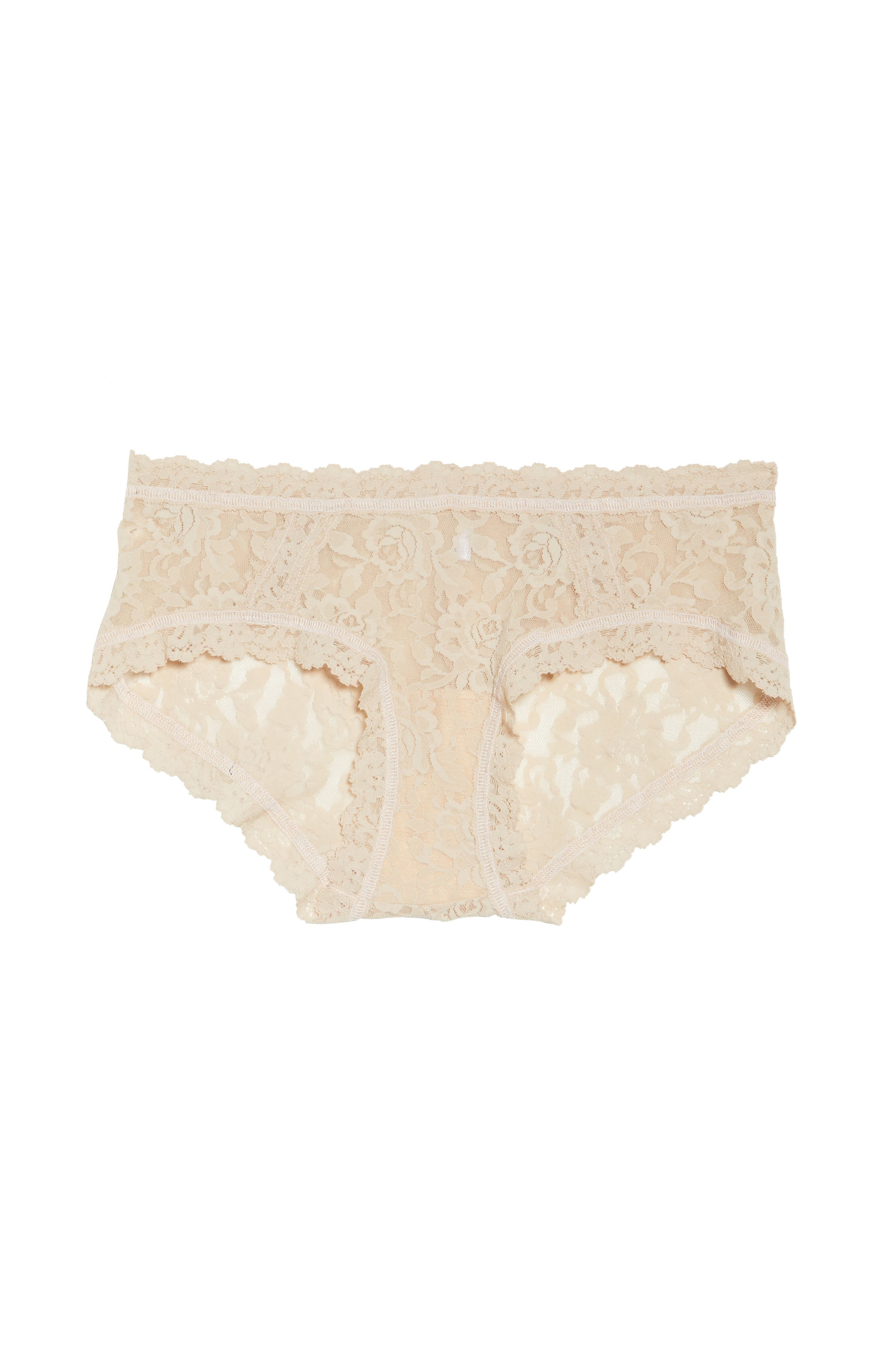 Floral Stretch Lace Girlkini,                             Alternate thumbnail 14, color,