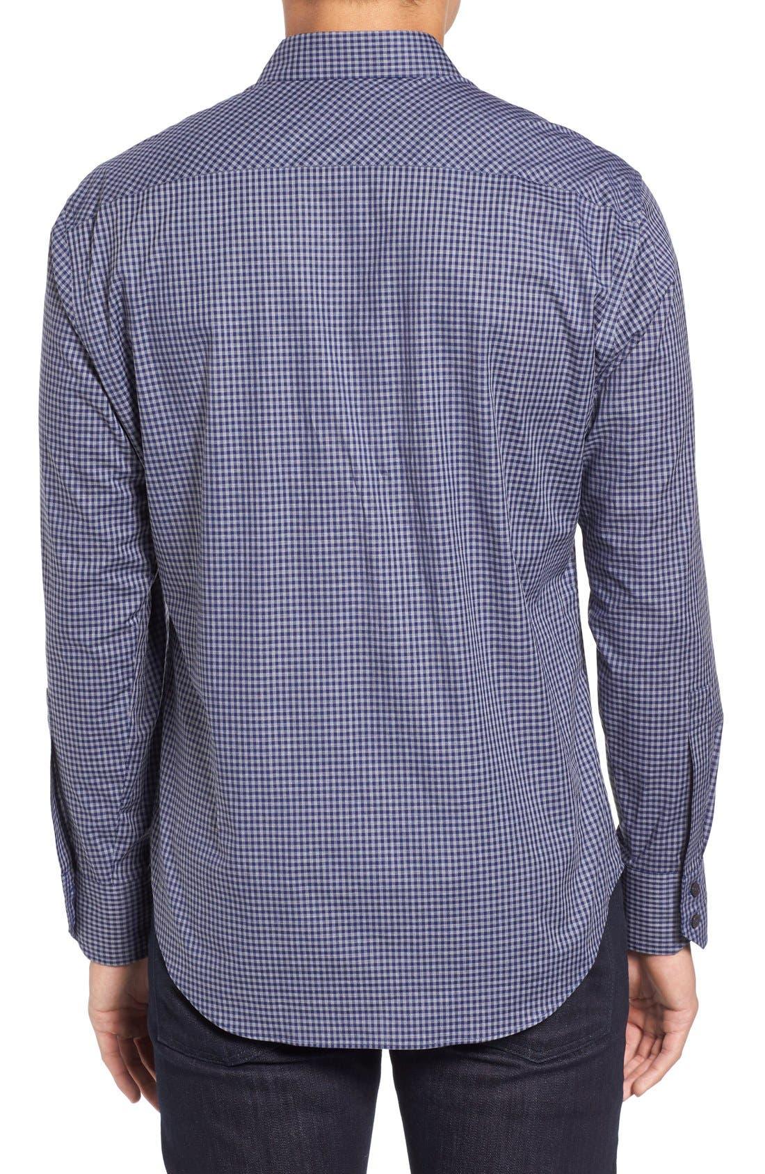 Fitzpatrick Trim Fit Sport Shirt,                             Alternate thumbnail 2, color,                             400