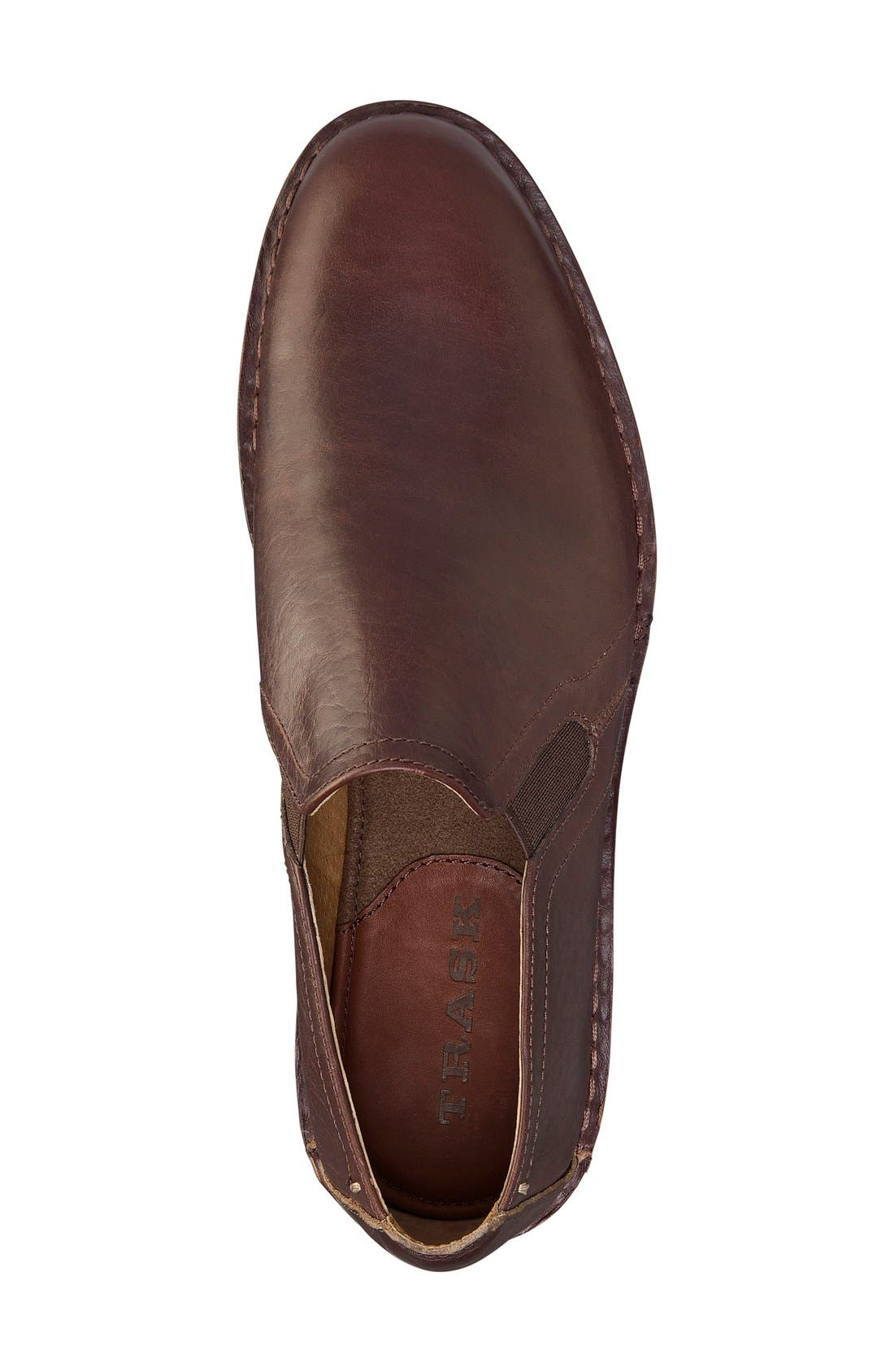 'Blaine' Venetian Loafer,                             Alternate thumbnail 3, color,                             MAHOGANY