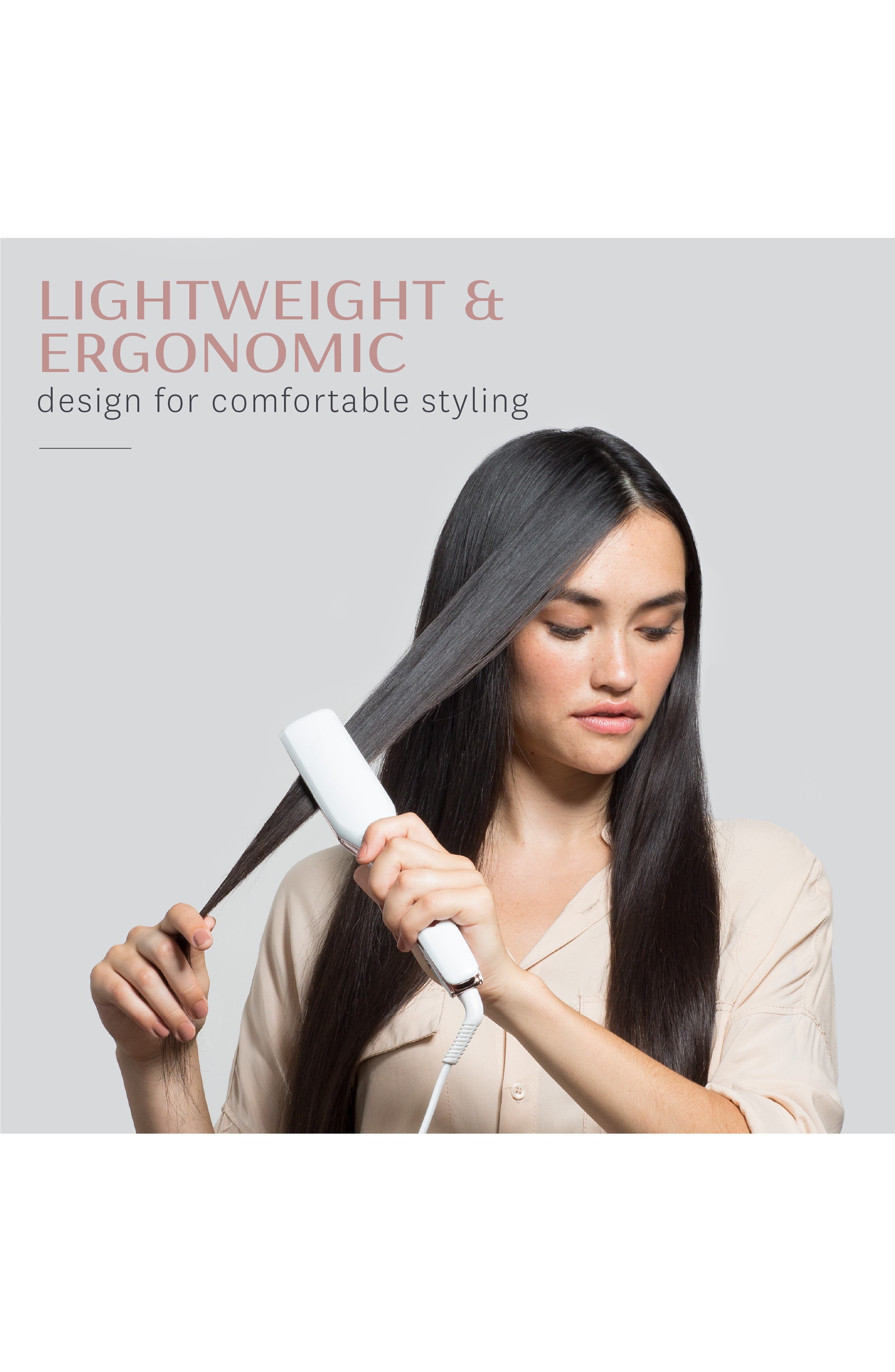 SinglePass X 1.5-Inch Ionic Flat Iron with Ceramic Plates,                             Alternate thumbnail 4, color,                             NO COLOR