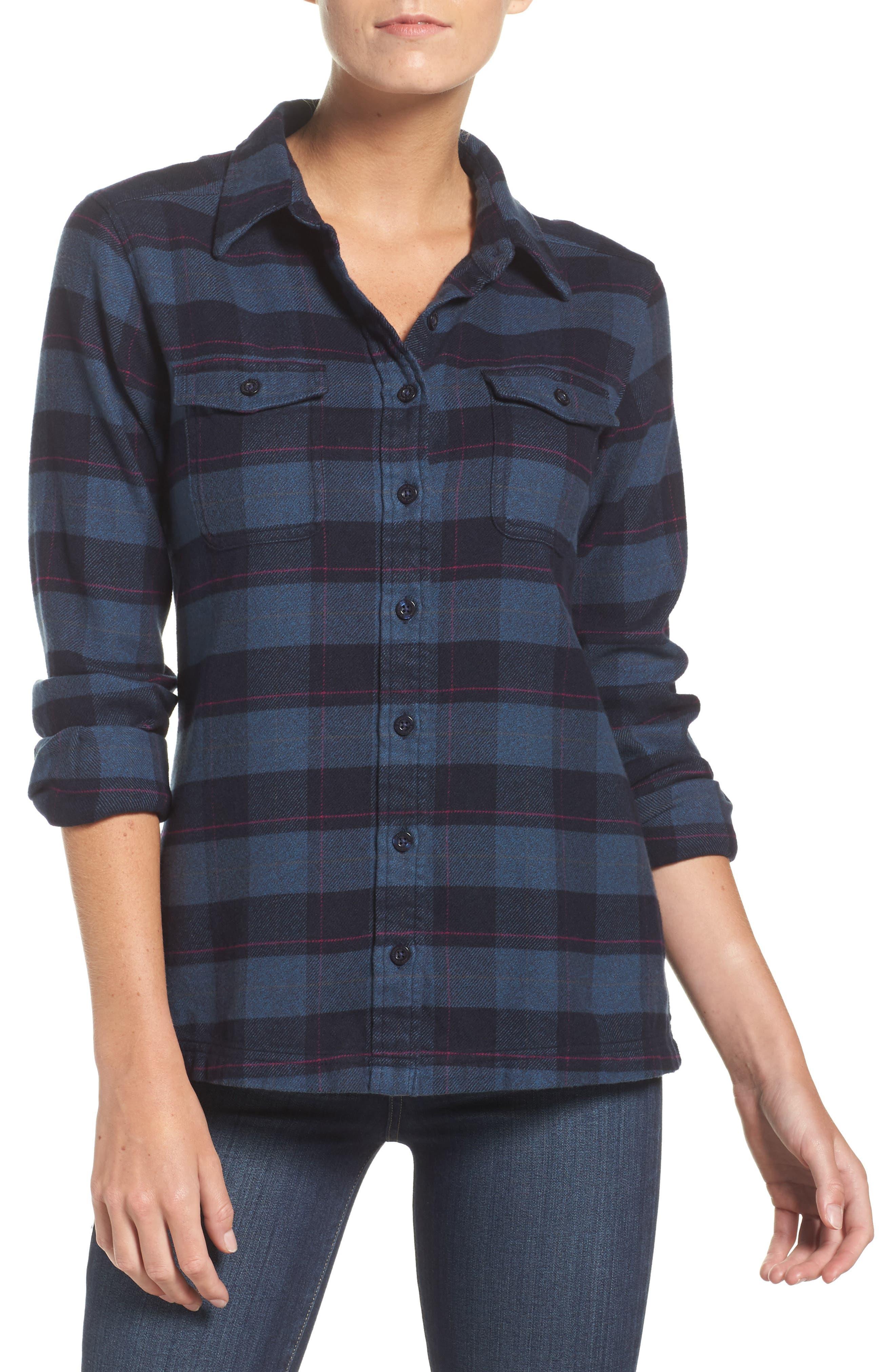 'Fjord' Flannel Shirt,                             Main thumbnail 12, color,
