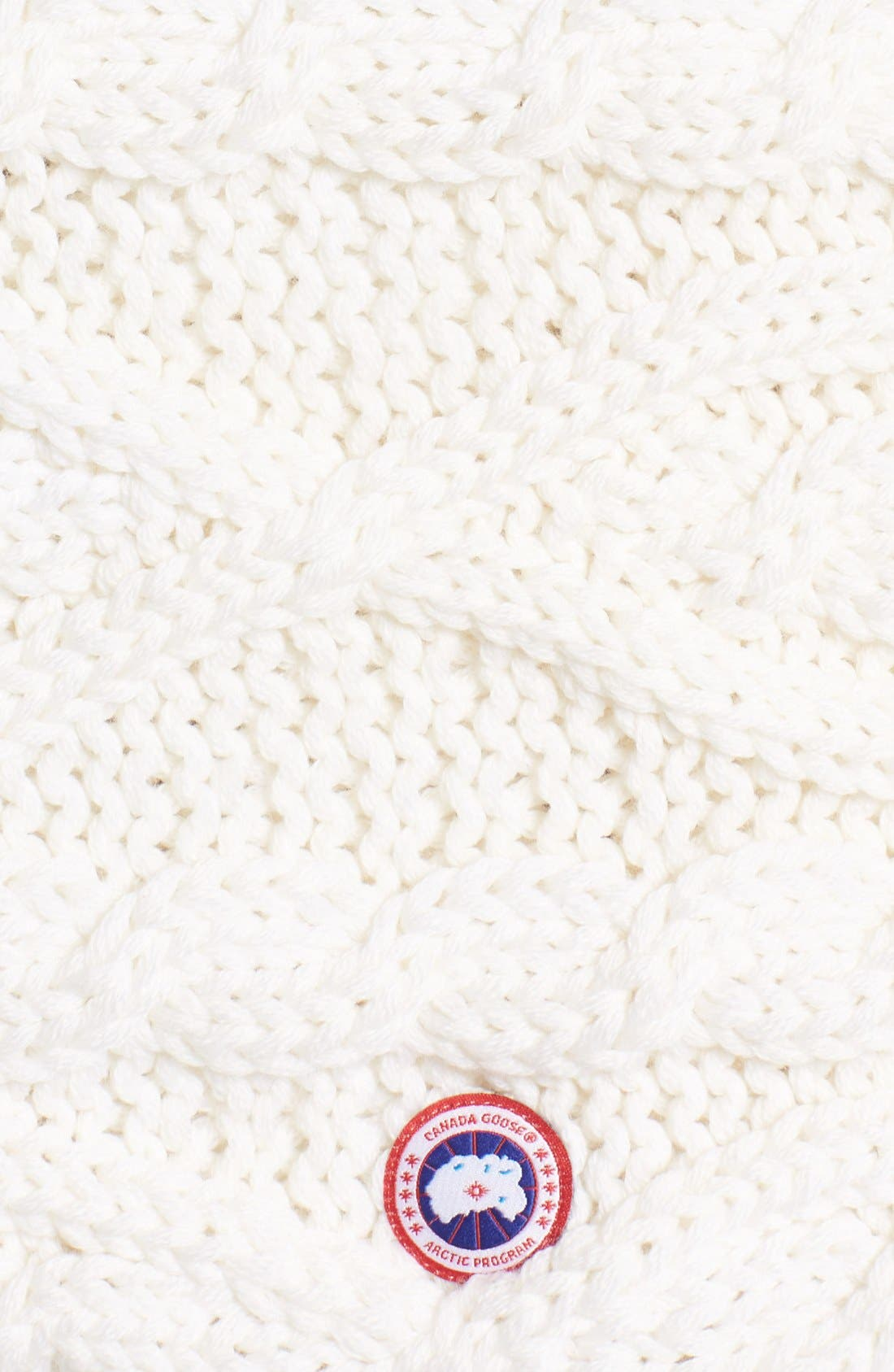 Chunky Cable Wool Snood,                             Alternate thumbnail 11, color,