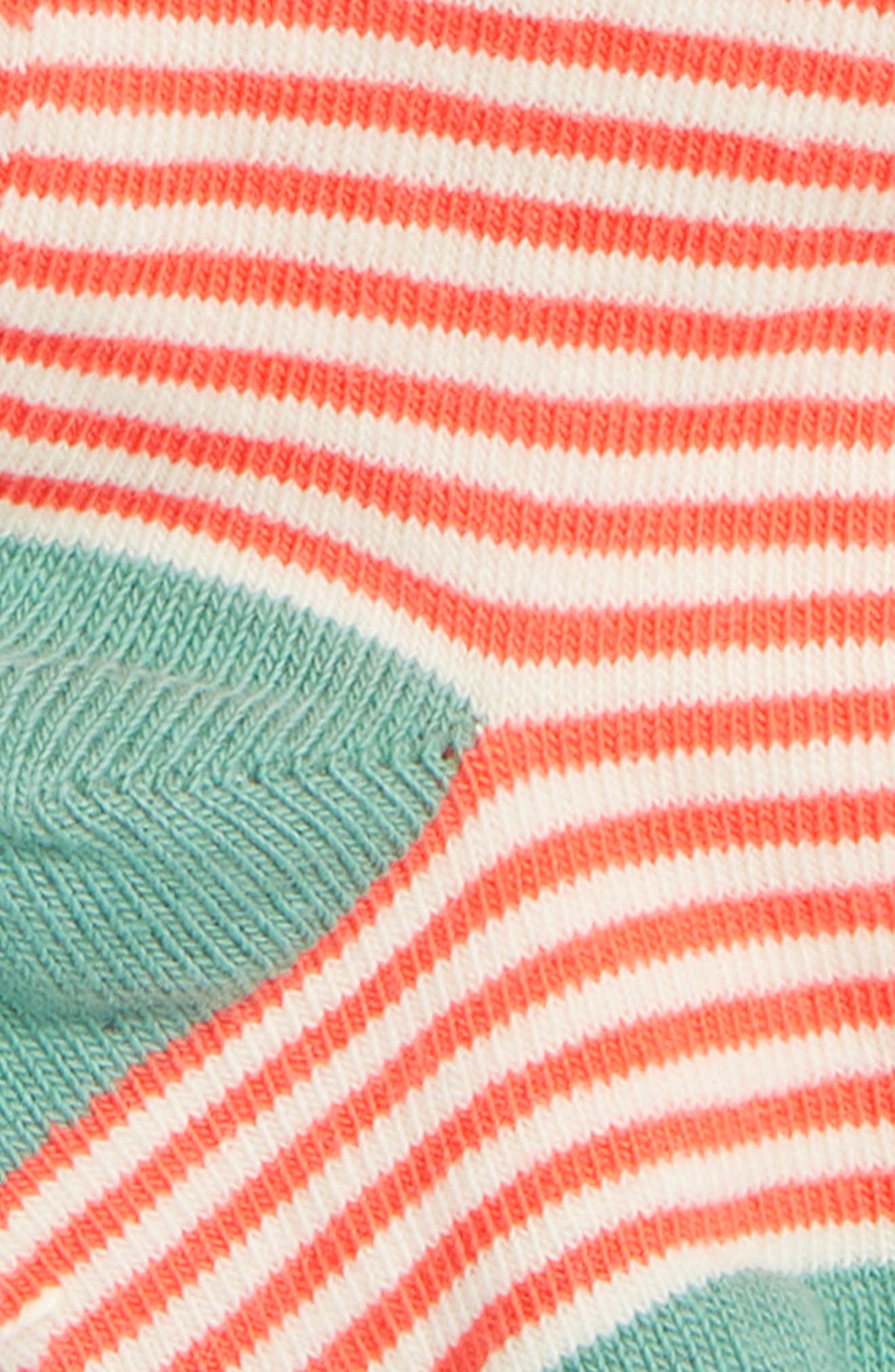 Everyday Tights,                             Alternate thumbnail 2, color,                             ECRU/ CORAL SUNSET