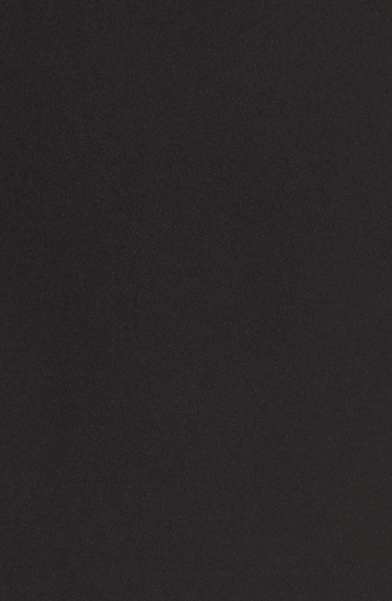 Lace Back Sheath Dress,                             Alternate thumbnail 5, color,                             001