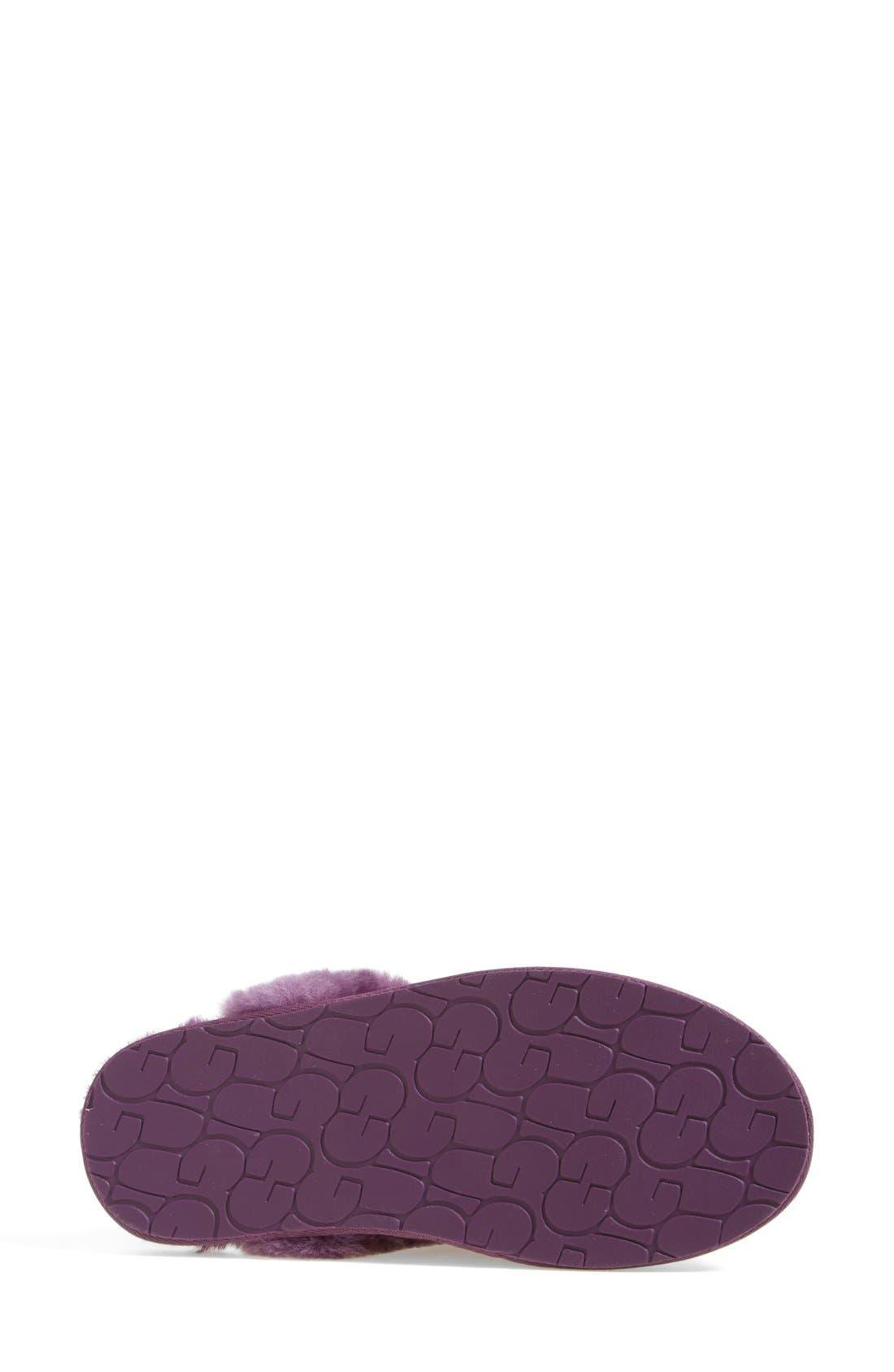 Australia Scuffette II - Exotic Genuine Calf Hair Slipper,                             Alternate thumbnail 9, color,