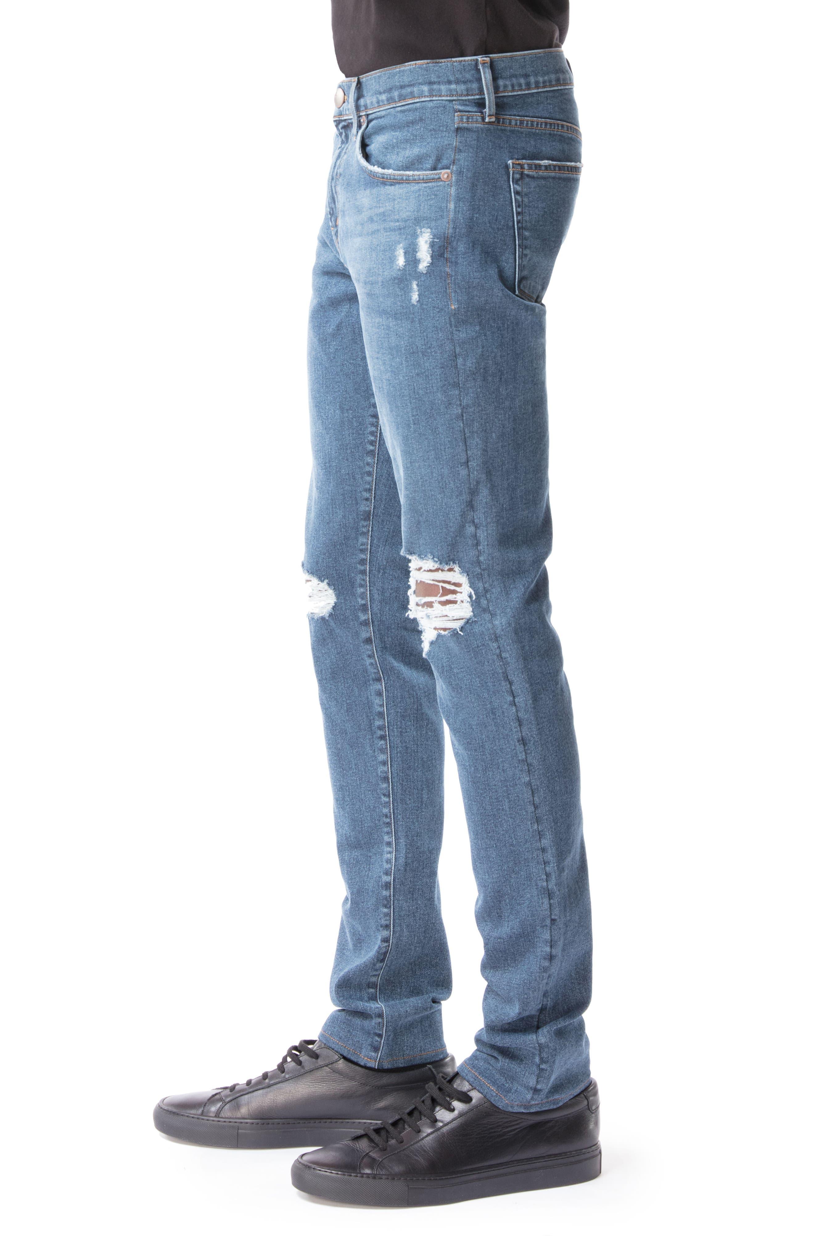 Mick Skinny Fit Jeans,                             Alternate thumbnail 3, color,                             494