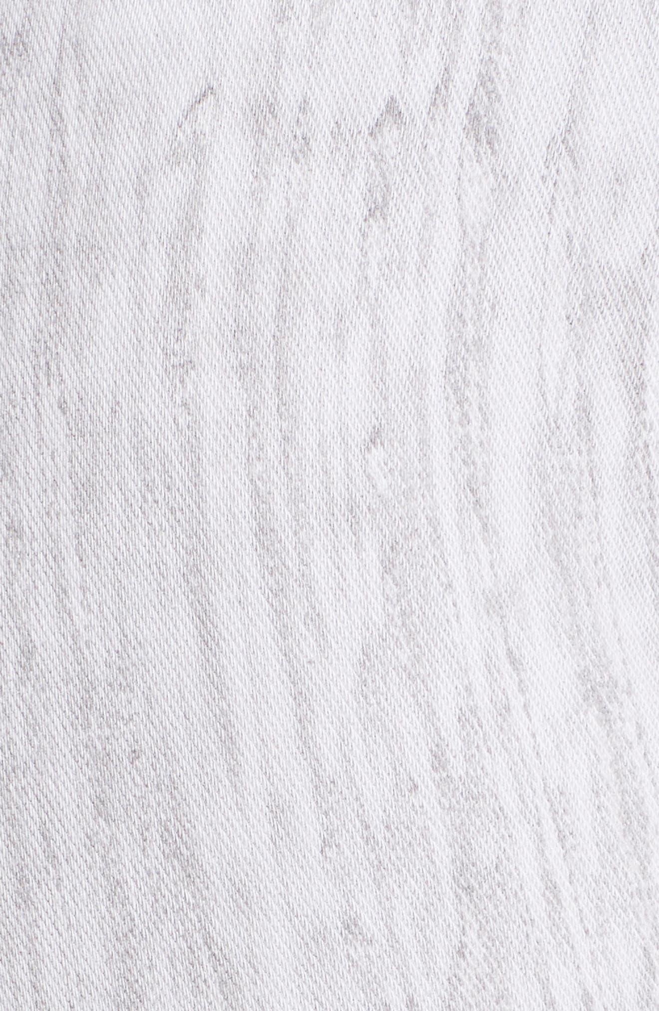 Lyssè Toothpick Denim Leggings,                             Alternate thumbnail 5, color,                             GREY TIE DYE