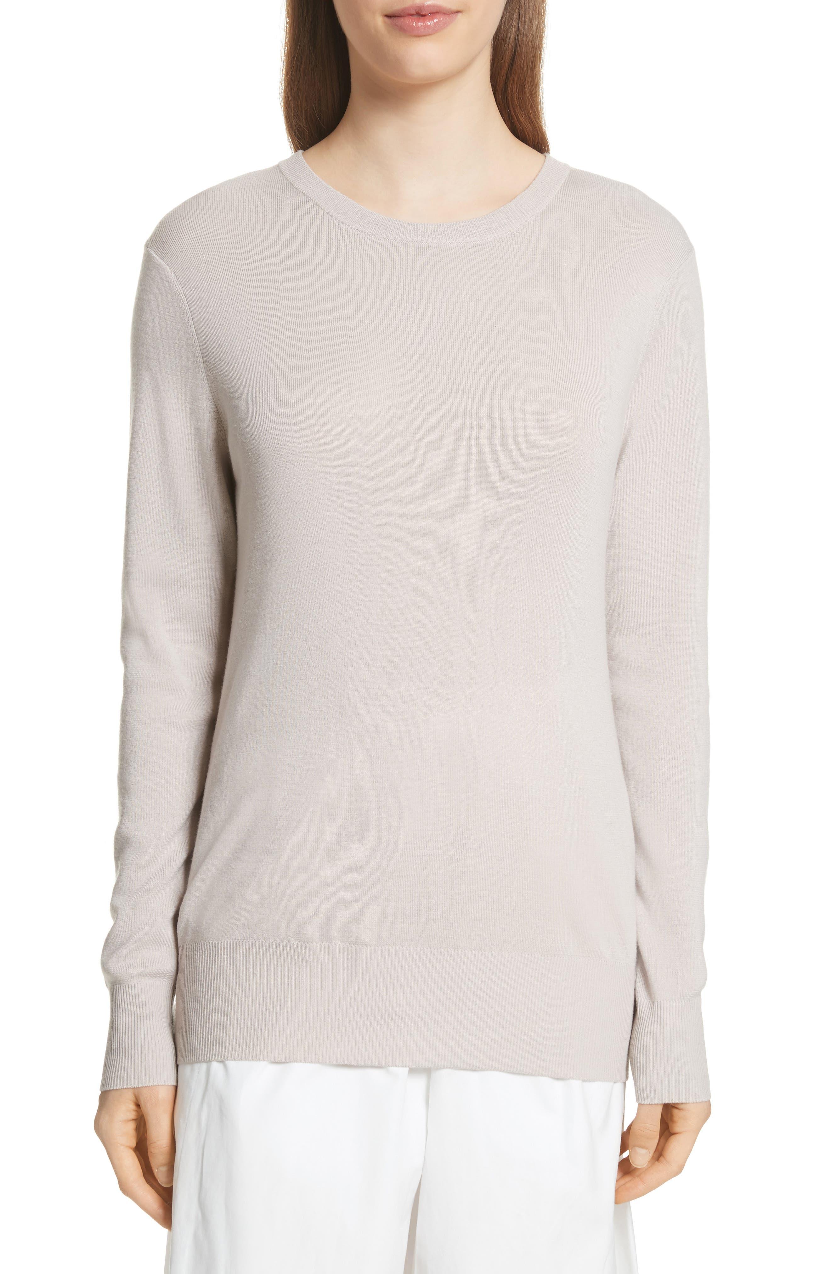 Slit Back Sweater,                             Main thumbnail 2, color,
