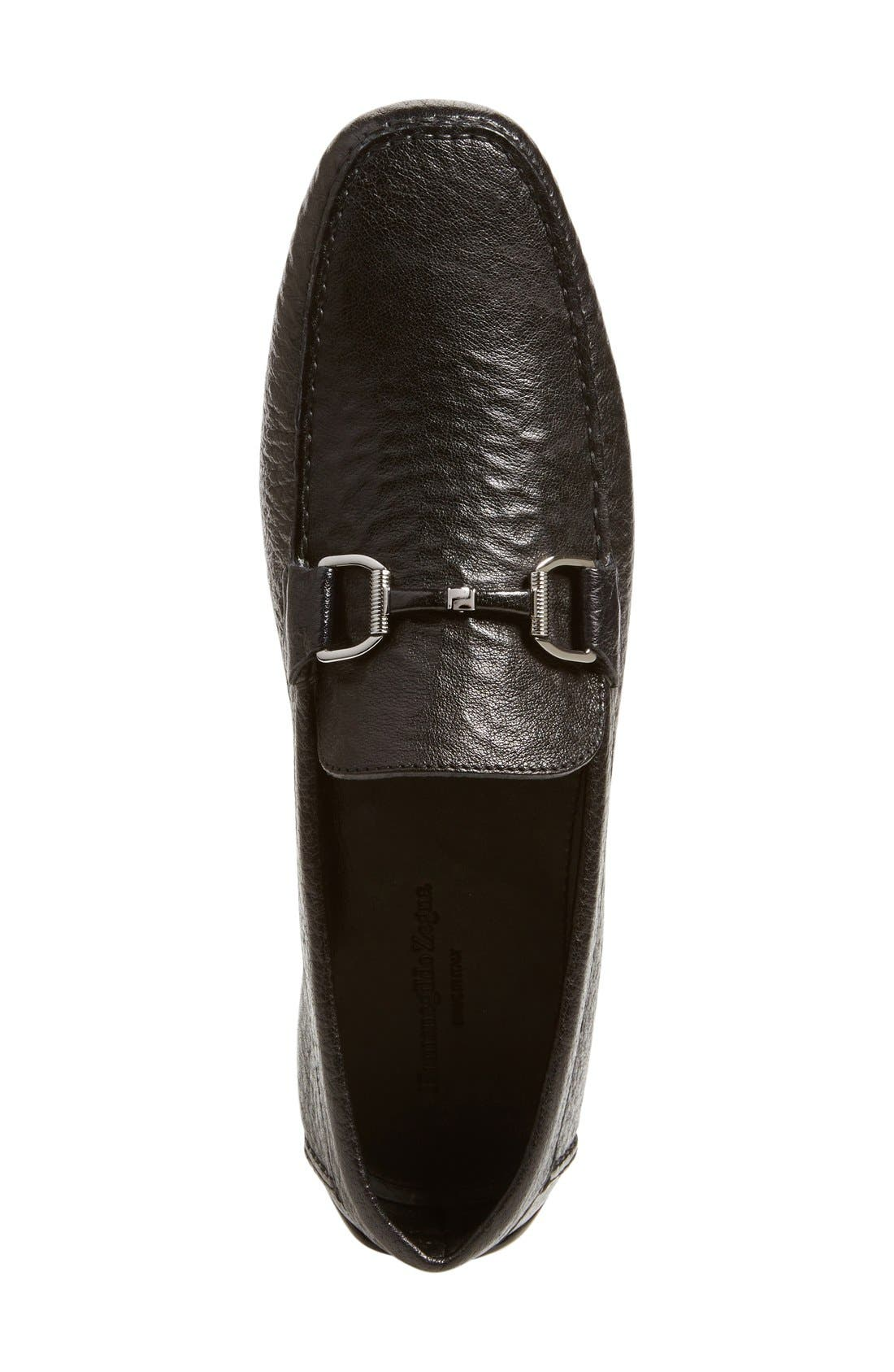 ERMENEGILDO ZEGNA,                             Driving Shoe,                             Alternate thumbnail 2, color,                             001
