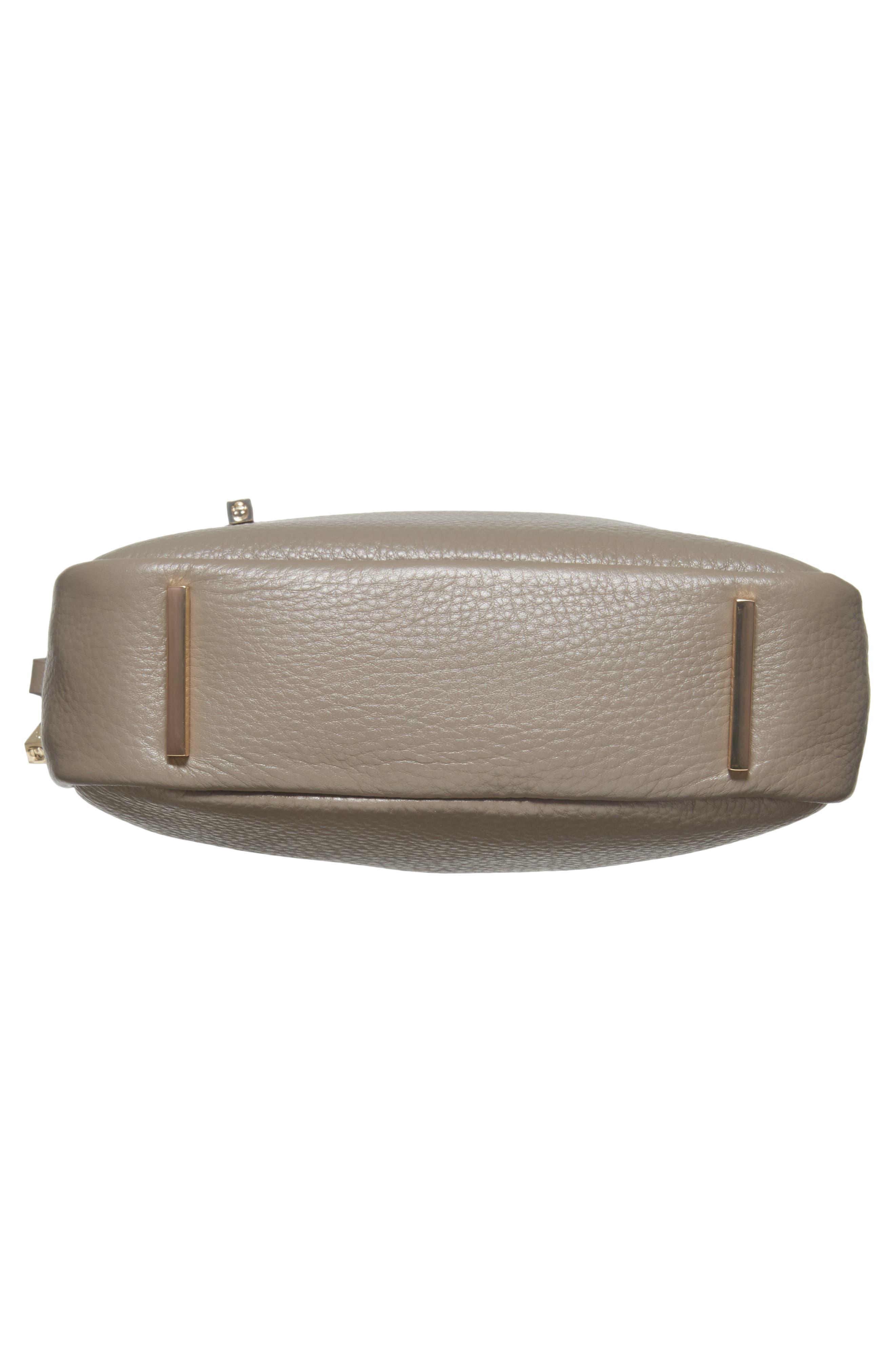 Céline Dion Adagio Leather Camera Crossbody Bag,                             Alternate thumbnail 18, color,