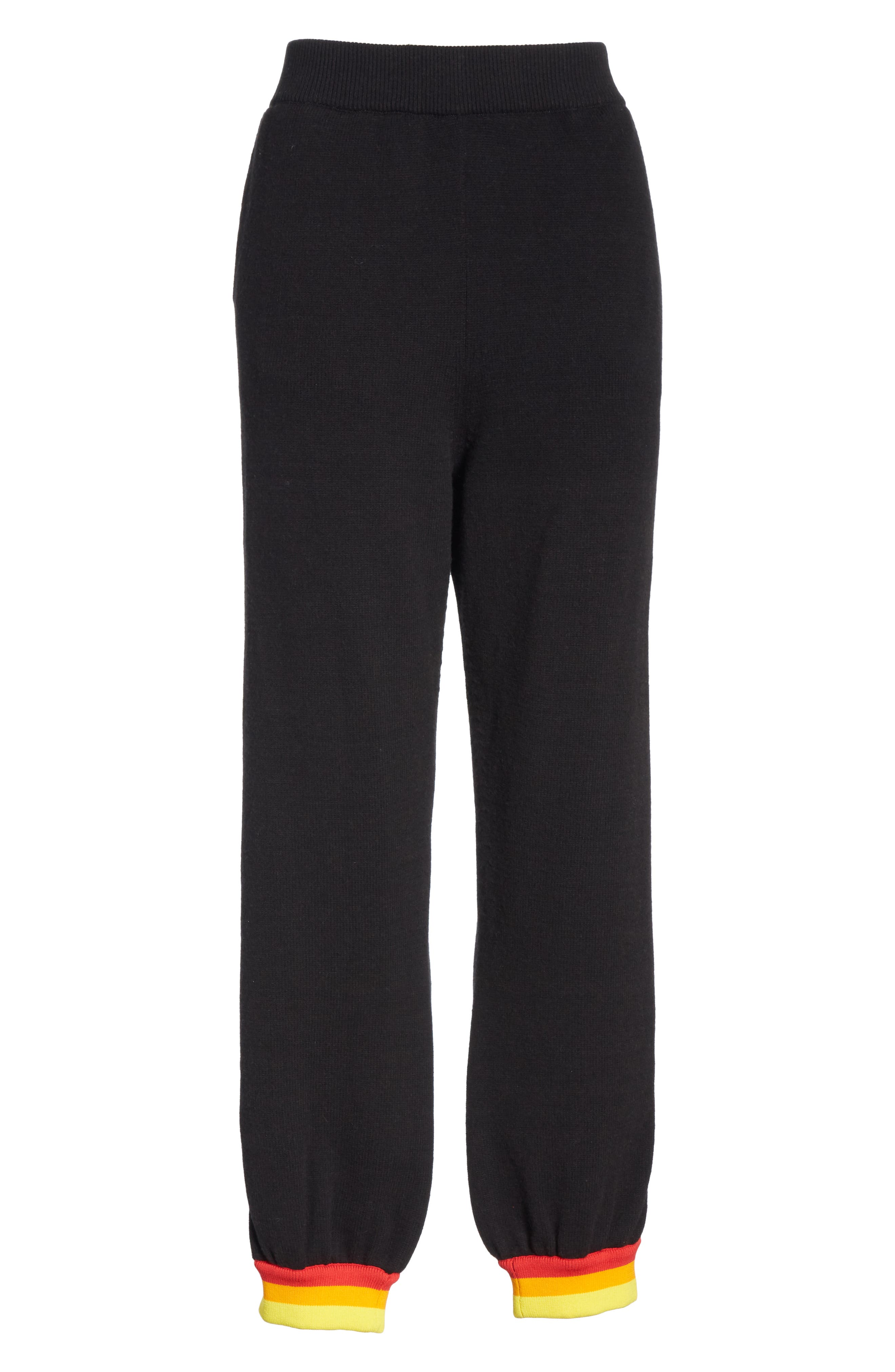 OPENING CEREMONY,                             Unisex Jogger Pants,                             Alternate thumbnail 7, color,                             BLACK MULTI