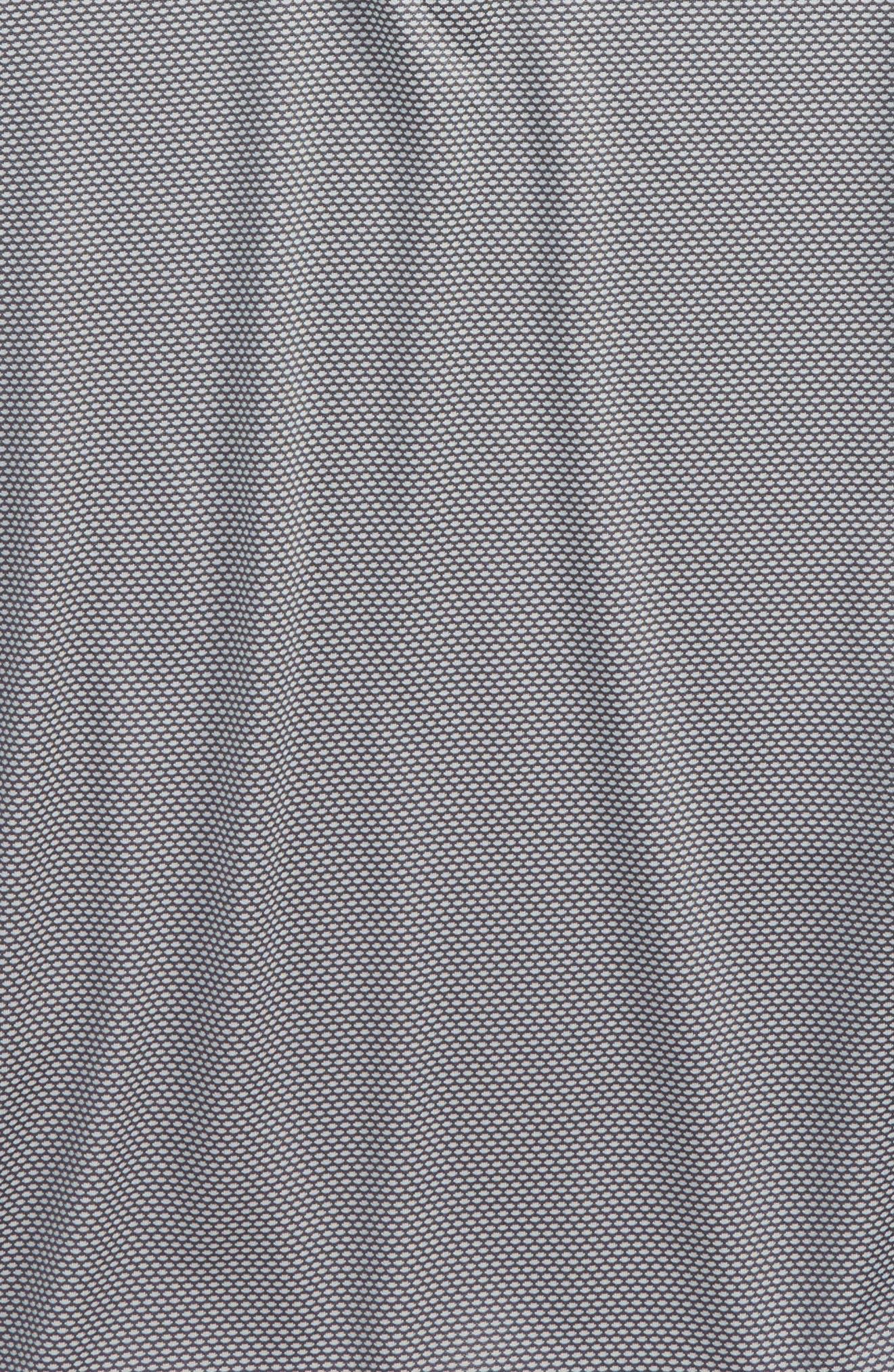 Textured Quarter Zip Top,                             Alternate thumbnail 12, color,