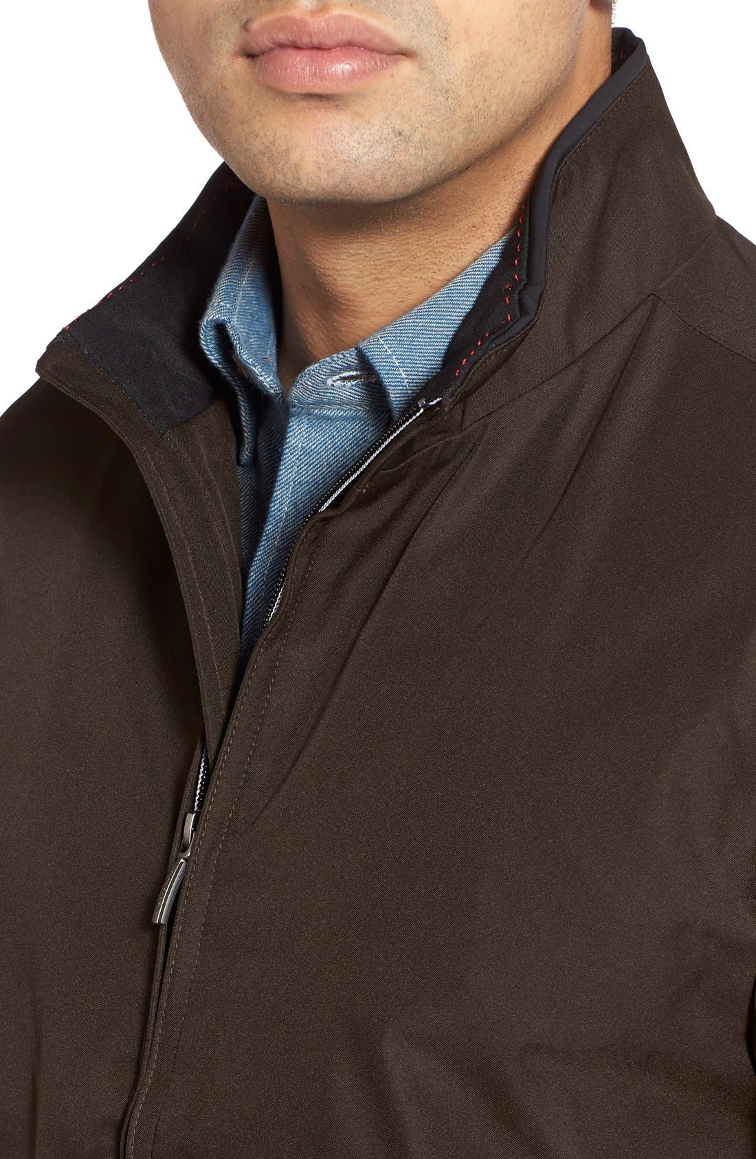 Waterproof & Windproof Bomber,                             Alternate thumbnail 9, color,