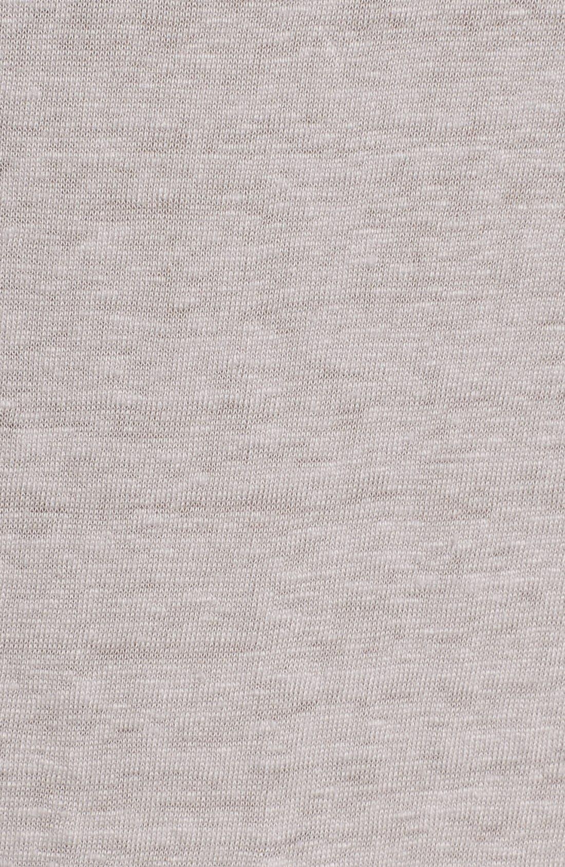 Bateau Neck Organic Linen Tunic,                             Alternate thumbnail 19, color,