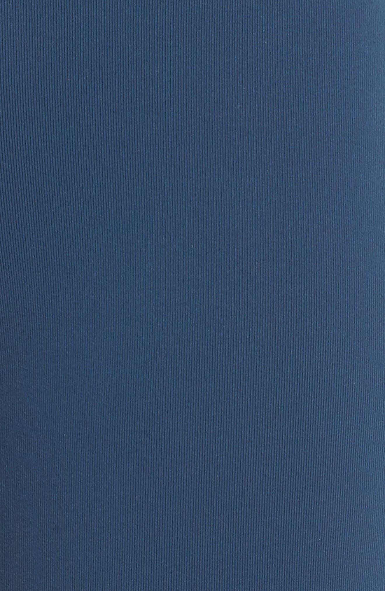 High Waist Moto Leggings,                             Alternate thumbnail 6, color,                             ECLIPSE/ ECLIPSE GLOSSY
