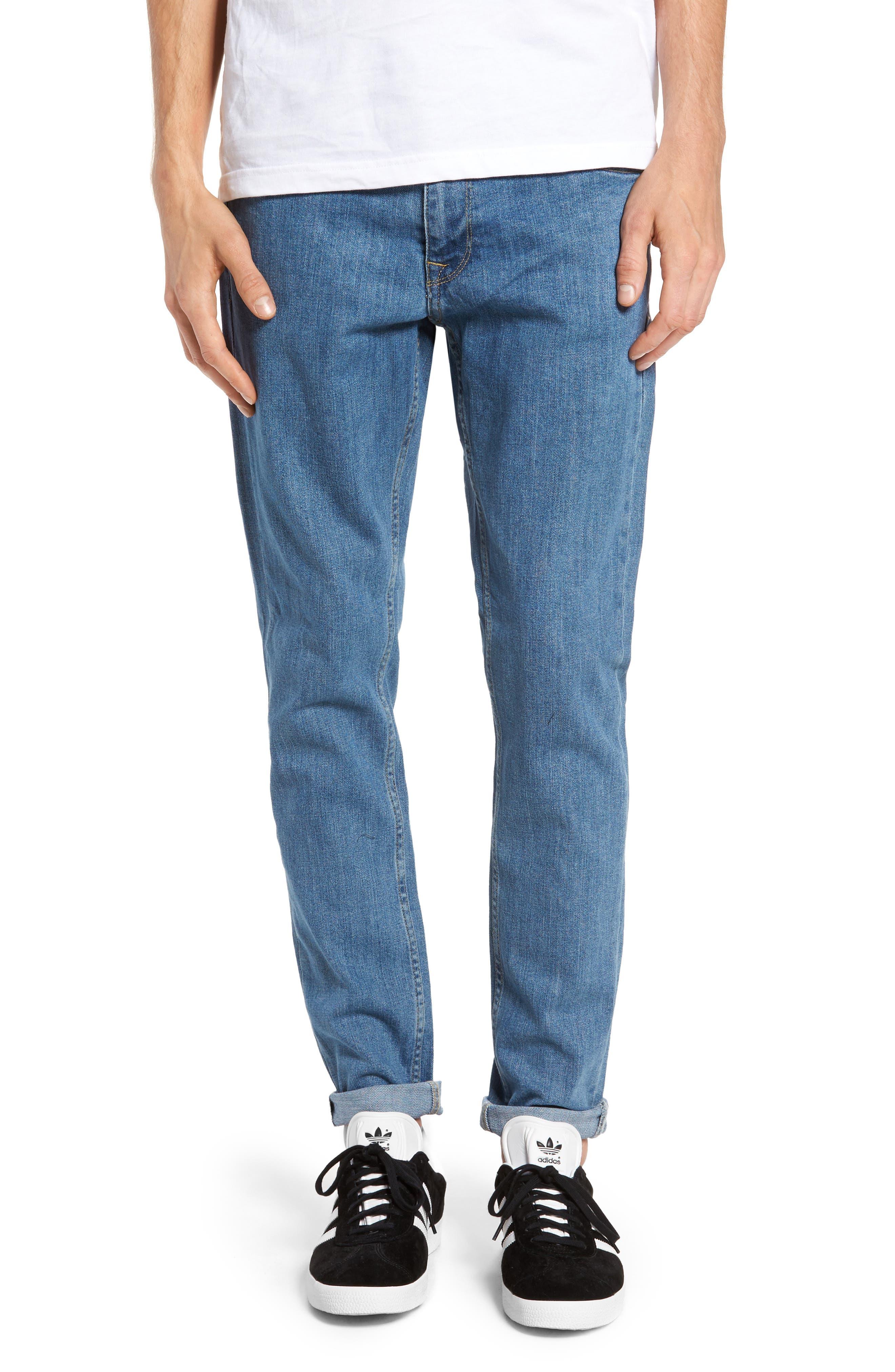 Clark Slim Straight Fit Jeans,                             Main thumbnail 1, color,
