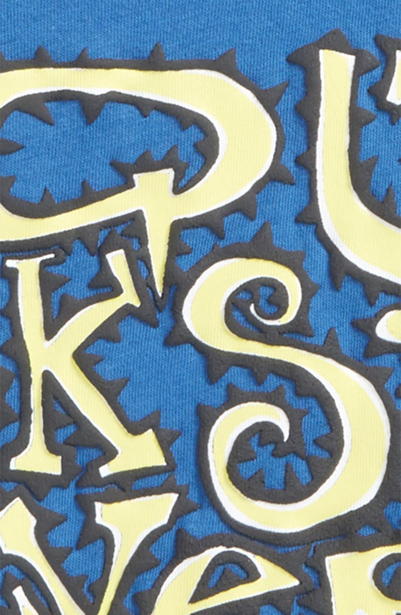 Wauke Graphic T-Shirt,                             Alternate thumbnail 3, color,                             417