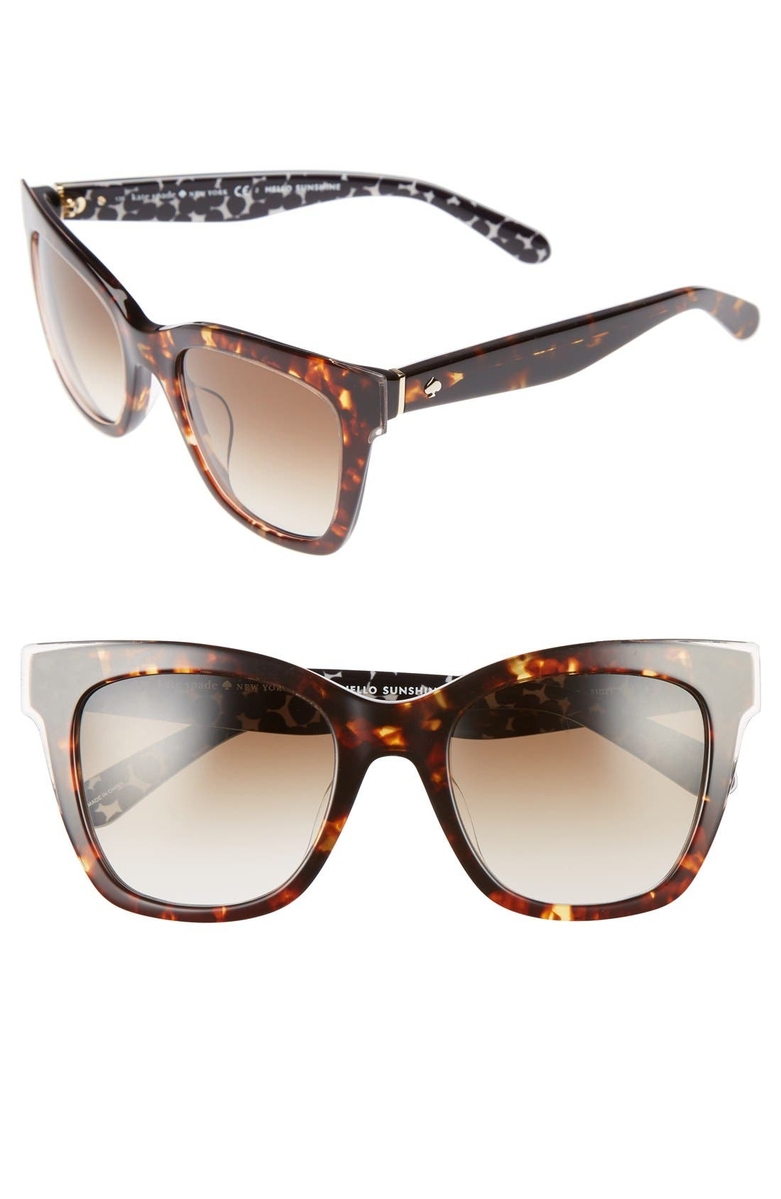 emmylou 51mm sunglasses,                             Main thumbnail 3, color,