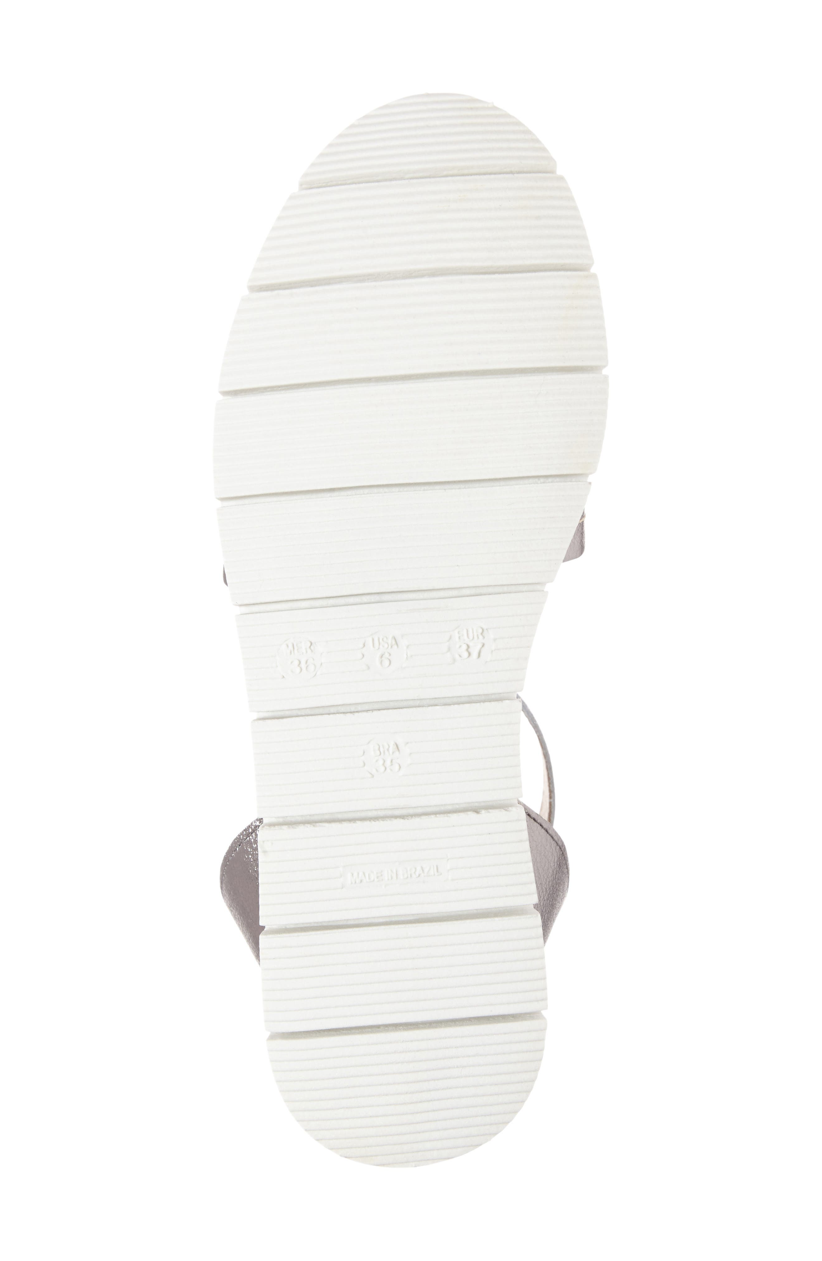 Cleo Platform Sandal,                             Alternate thumbnail 4, color,                             021
