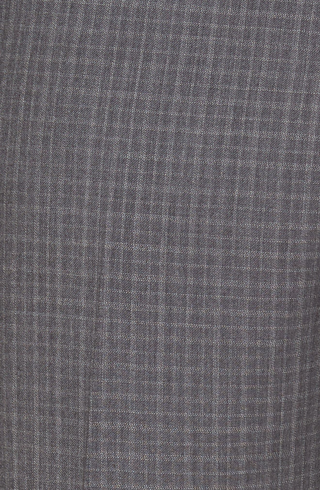 Flat Front Wool Trousers,                             Alternate thumbnail 2, color,                             099