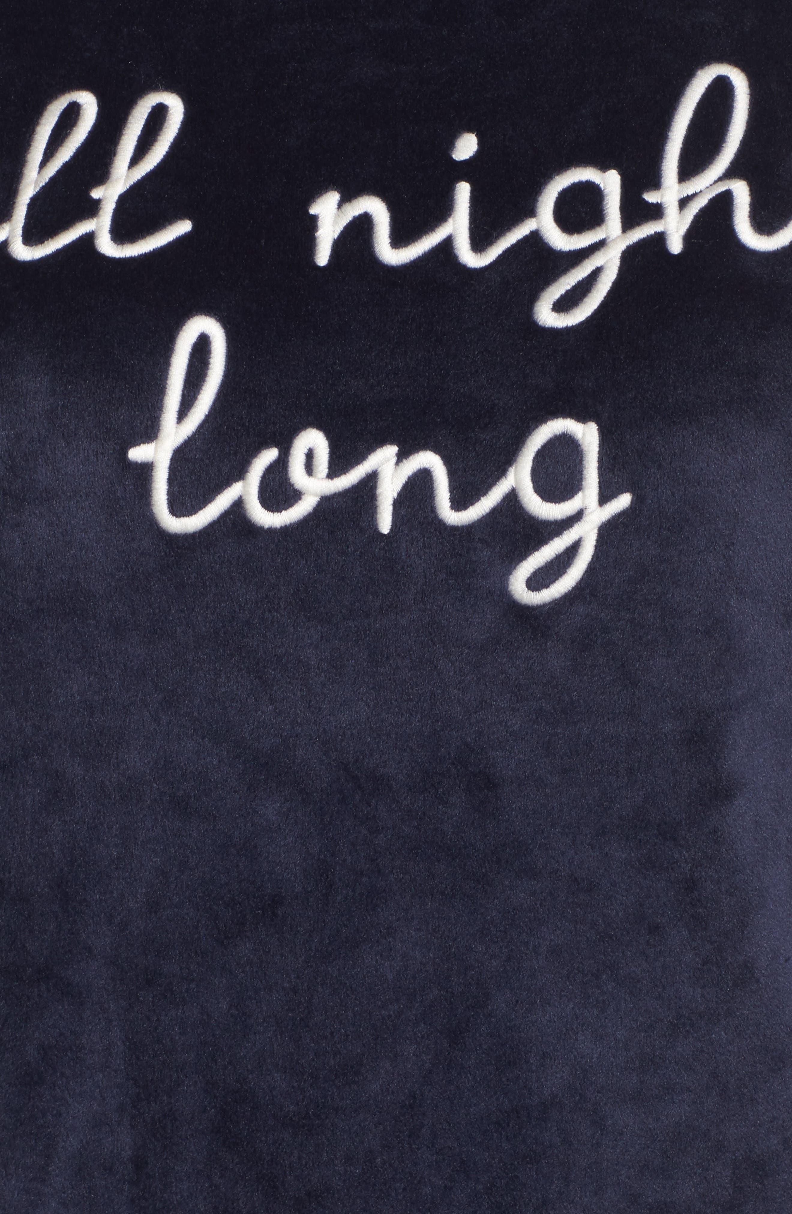 Luxury Plush Sleep Shirt,                             Alternate thumbnail 10, color,
