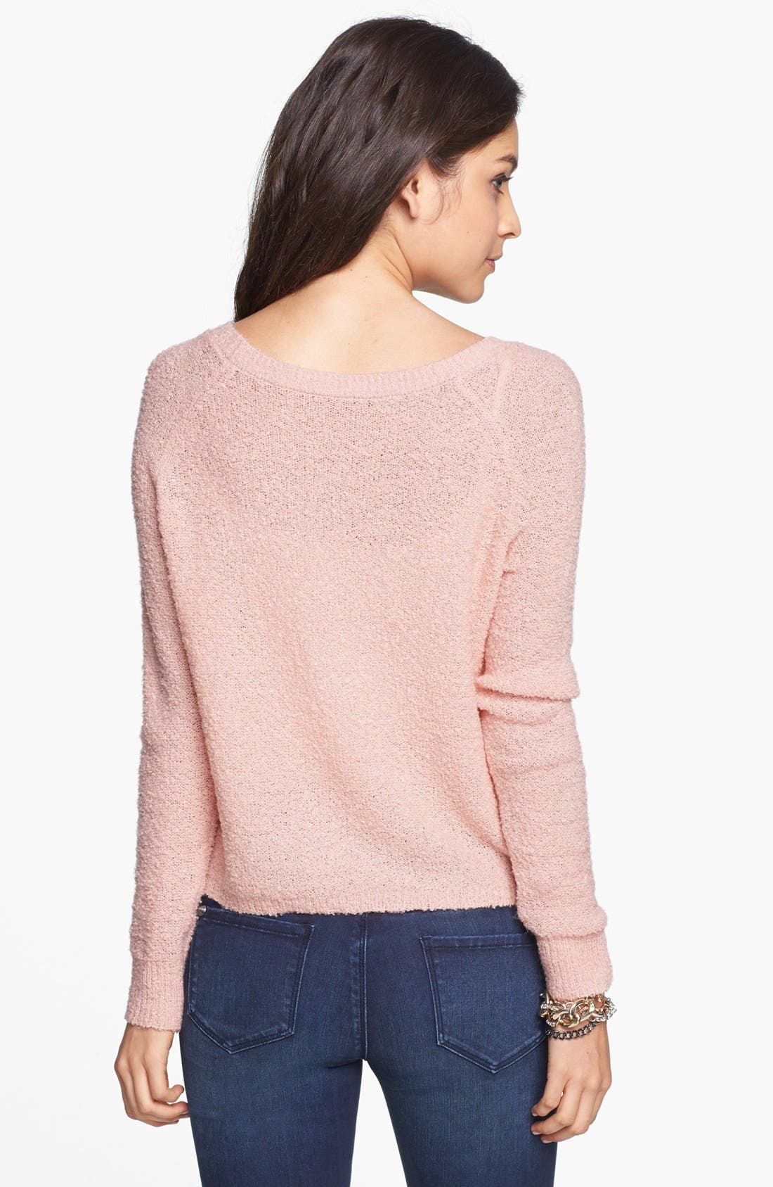 'Grunge' Textured Sweater,                             Alternate thumbnail 19, color,