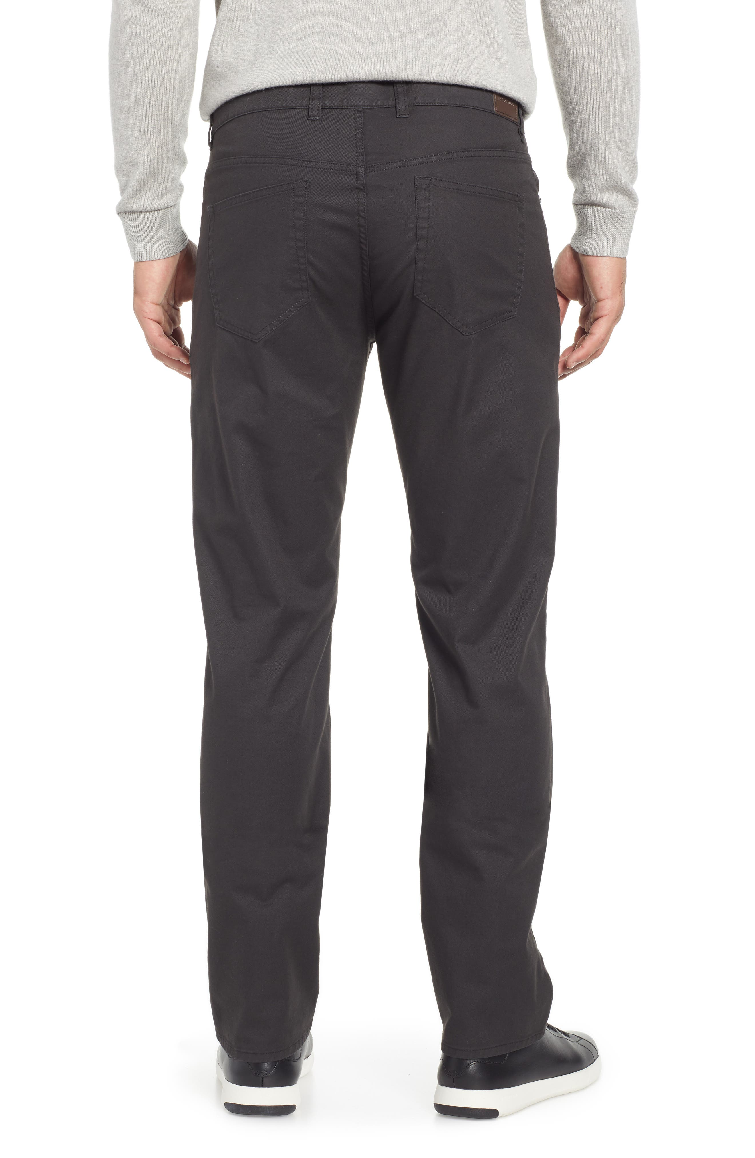Soft Touch Twill Pants,                             Alternate thumbnail 2, color,                             BLACK