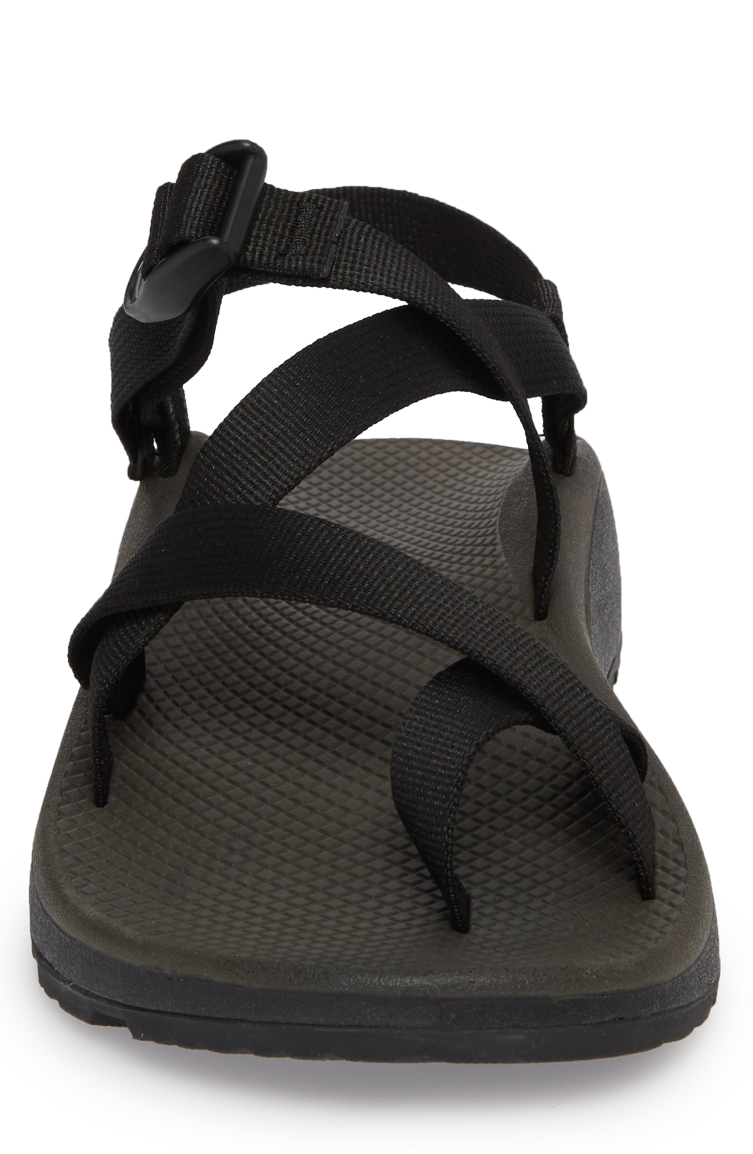 Z/Cloud 2 Sport Sandal,                             Alternate thumbnail 4, color,                             BLACK