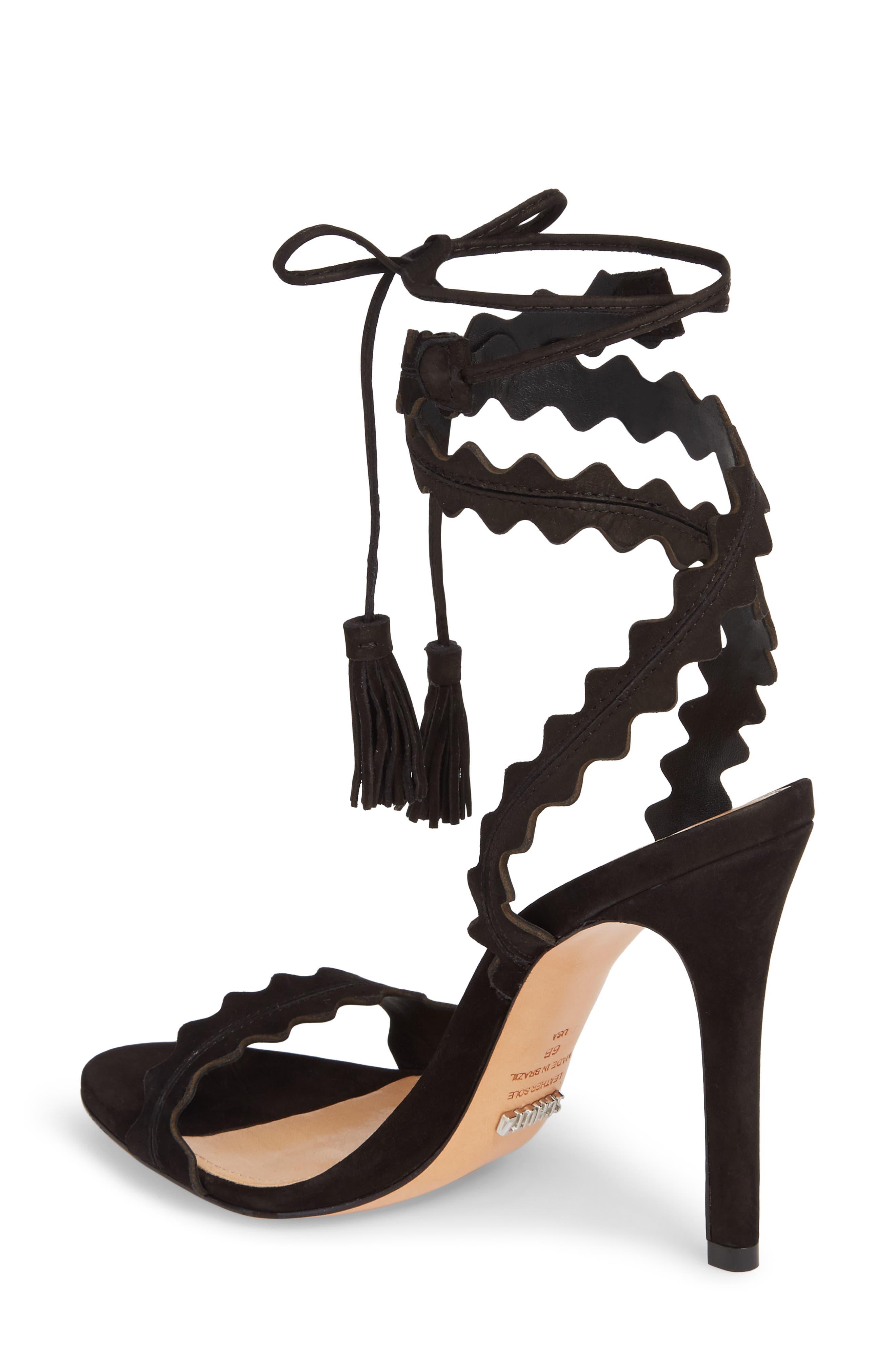 Lisana Wraparound Sandal,                             Alternate thumbnail 2, color,                             014