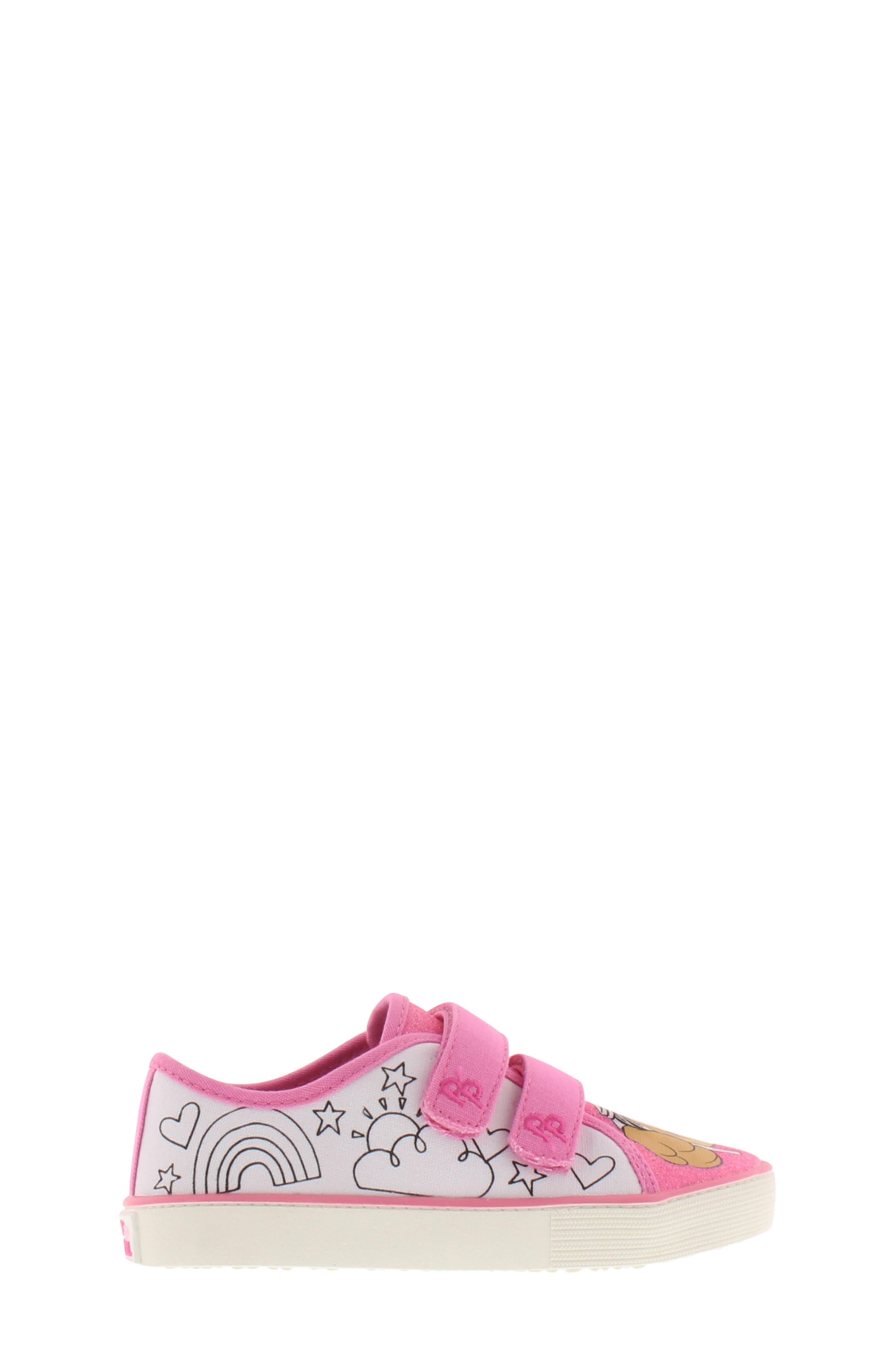 Skye Color DIY Sneaker,                             Alternate thumbnail 2, color,                             PINK WHITE